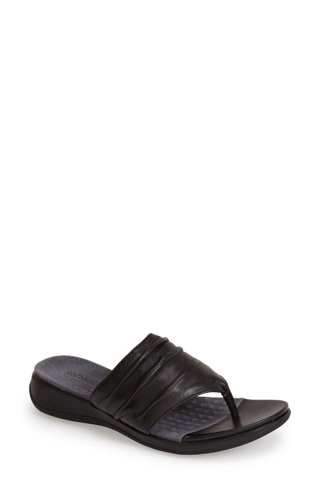 'Toma' Thong Sandal,                         Main,                         color, 001