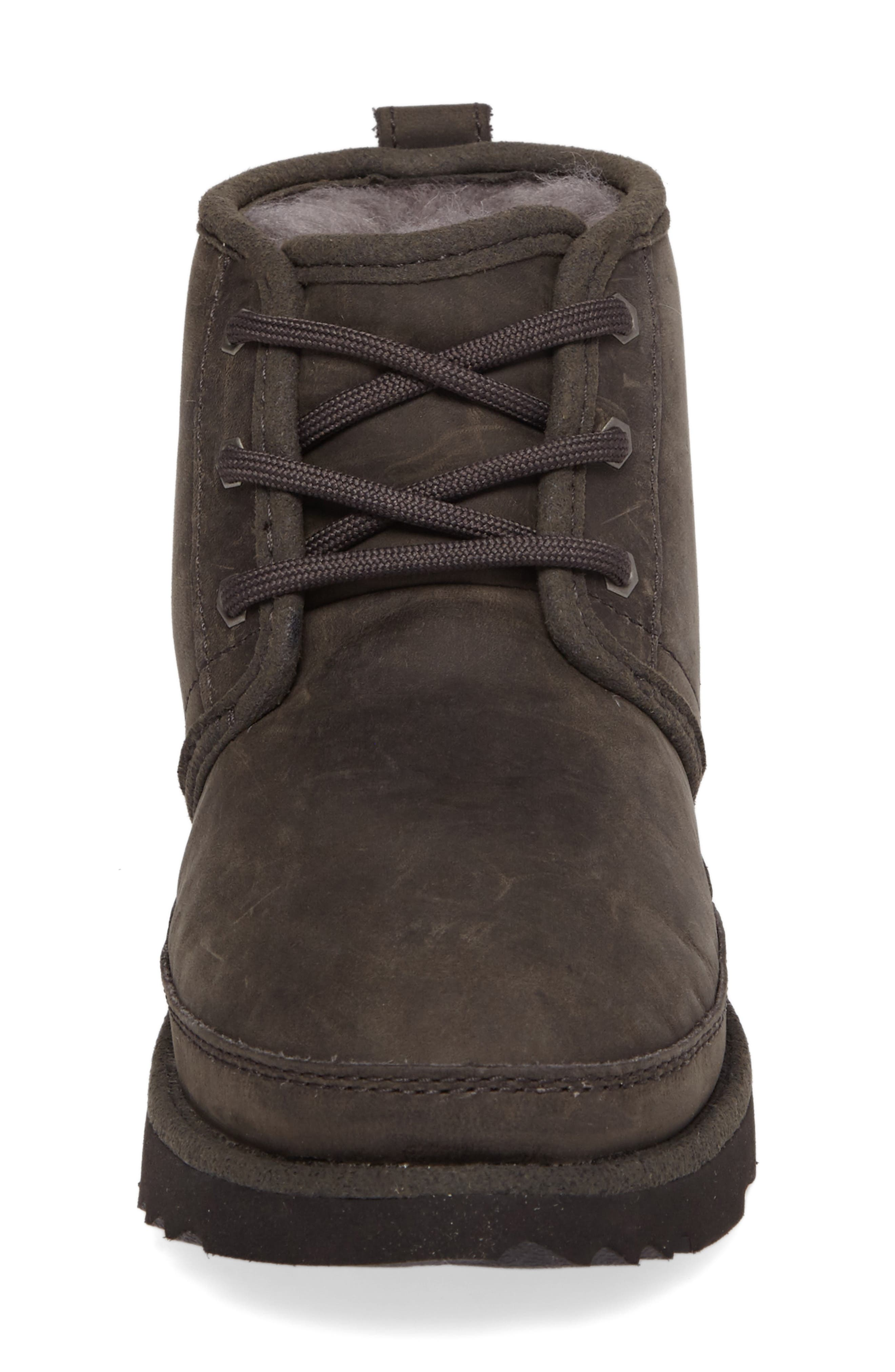 Neumel II Waterproof Chukka,                             Alternate thumbnail 4, color,                             CHARCOAL