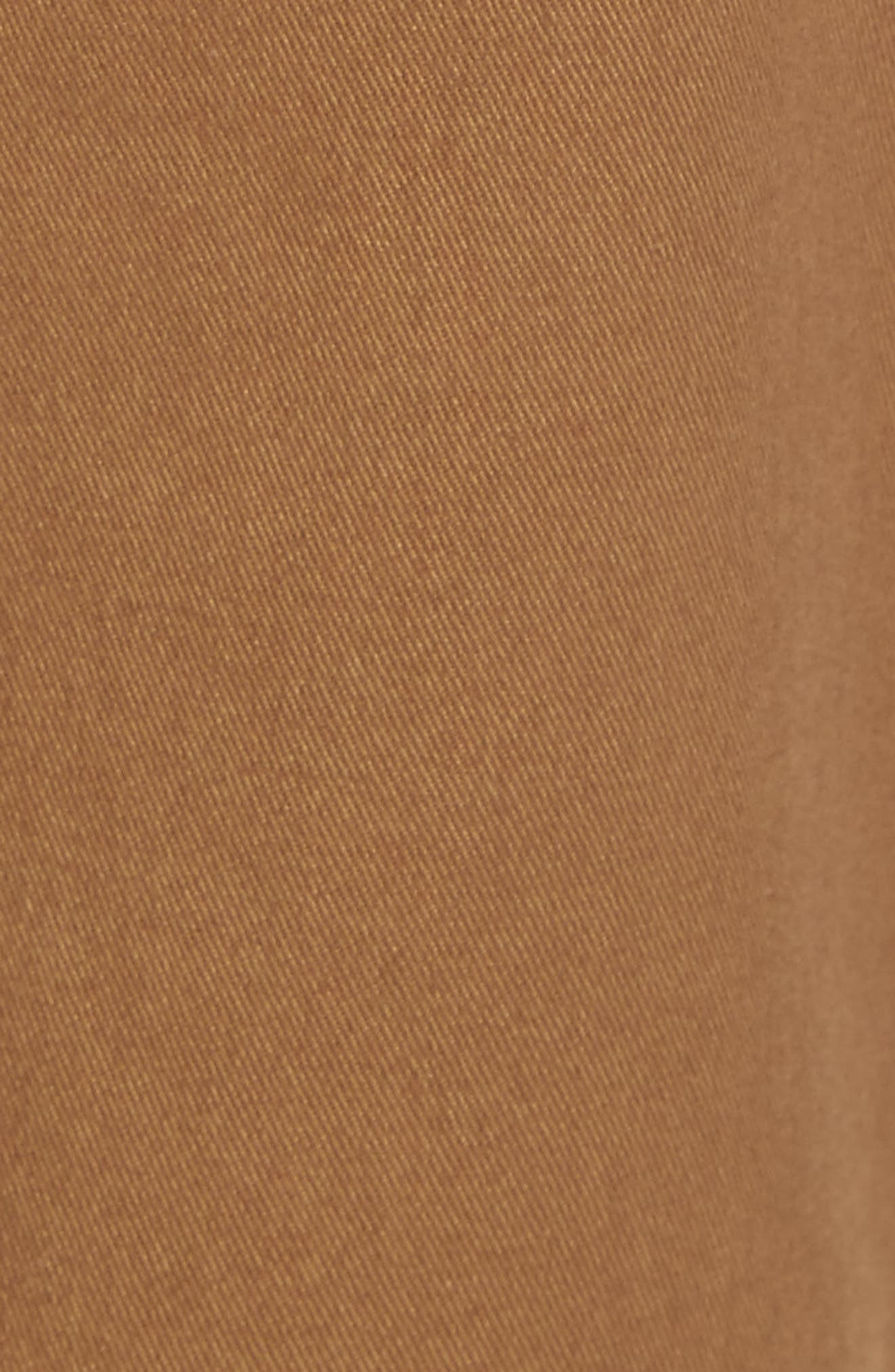Tailored Fit Washed Stretch Cotton Chinos,                             Alternate thumbnail 145, color,
