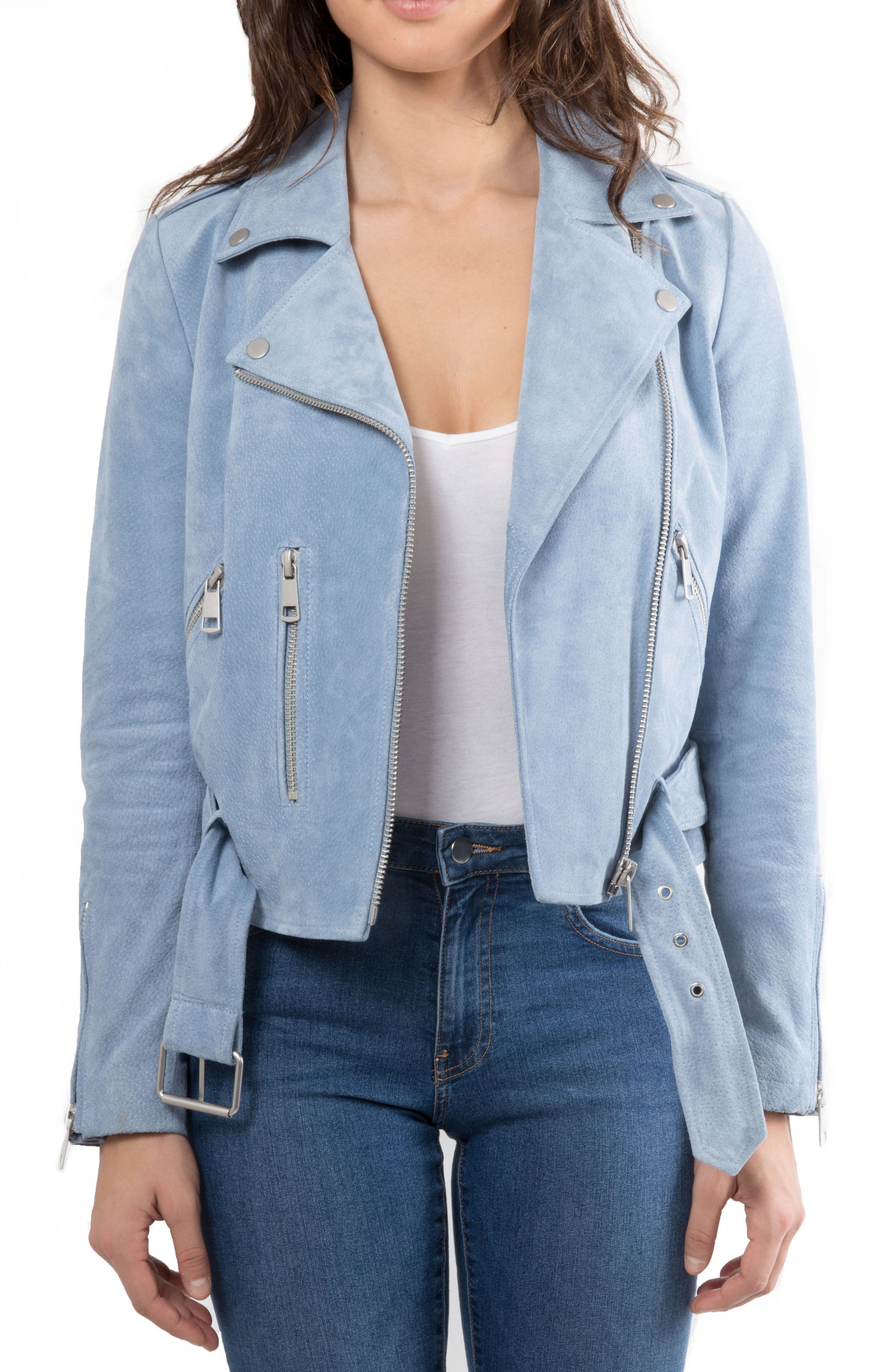 NYC  Suede Jacket,                             Main thumbnail 6, color,
