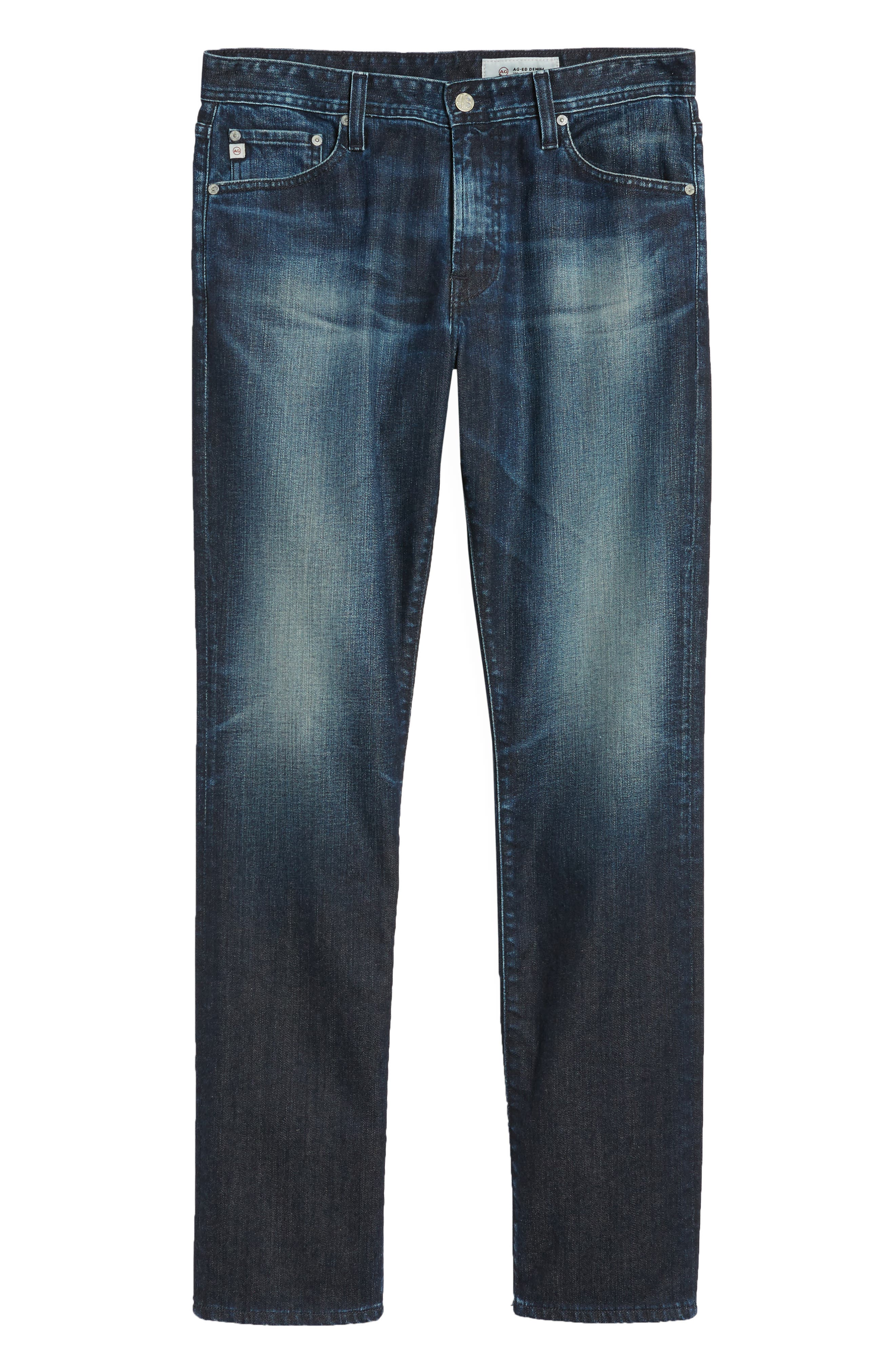 Everett Slim Straight Fit Jeans,                             Alternate thumbnail 6, color,                             3 YEARS TRENTWOOD