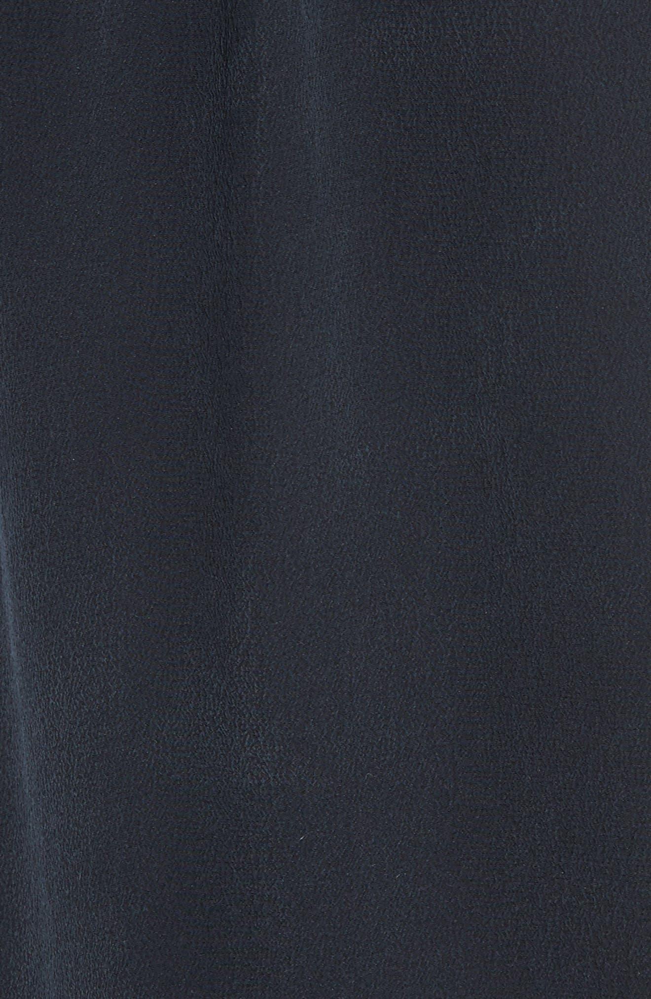 Utility Silk Blouse,                             Alternate thumbnail 5, color,                             403
