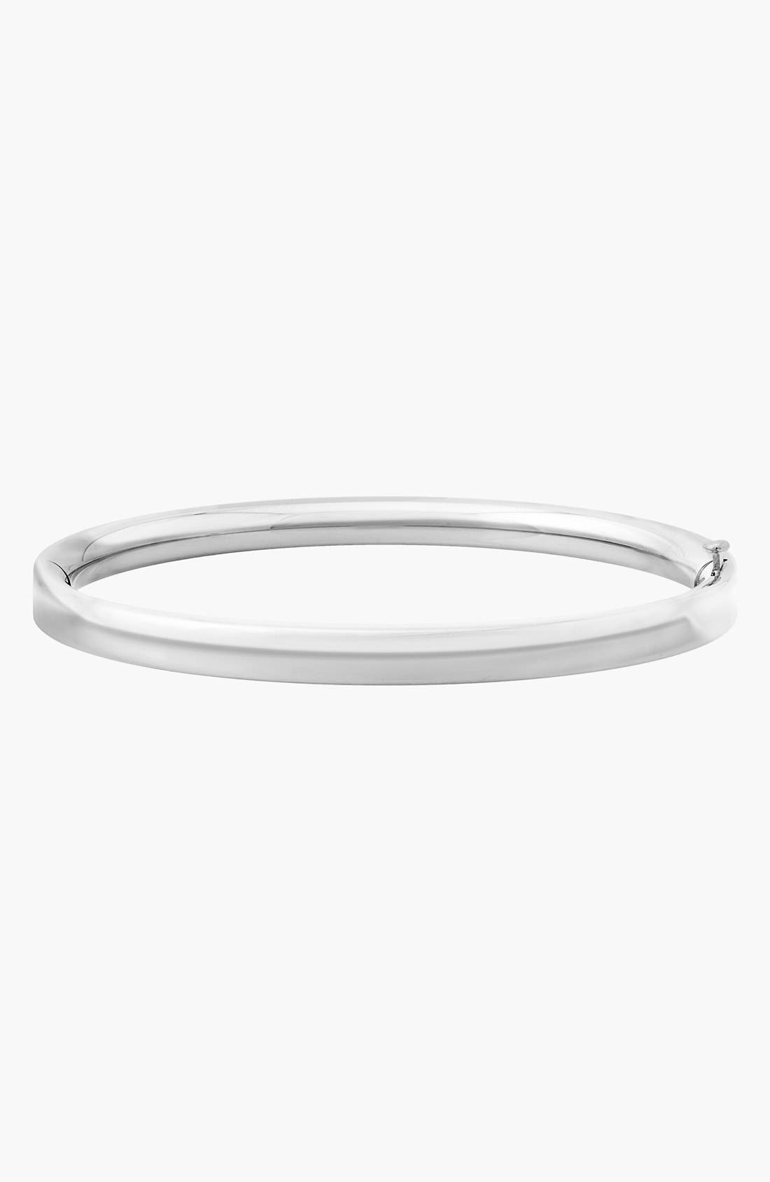 14k White Gold Bracelet,                         Main,                         color, WHITE GOLD