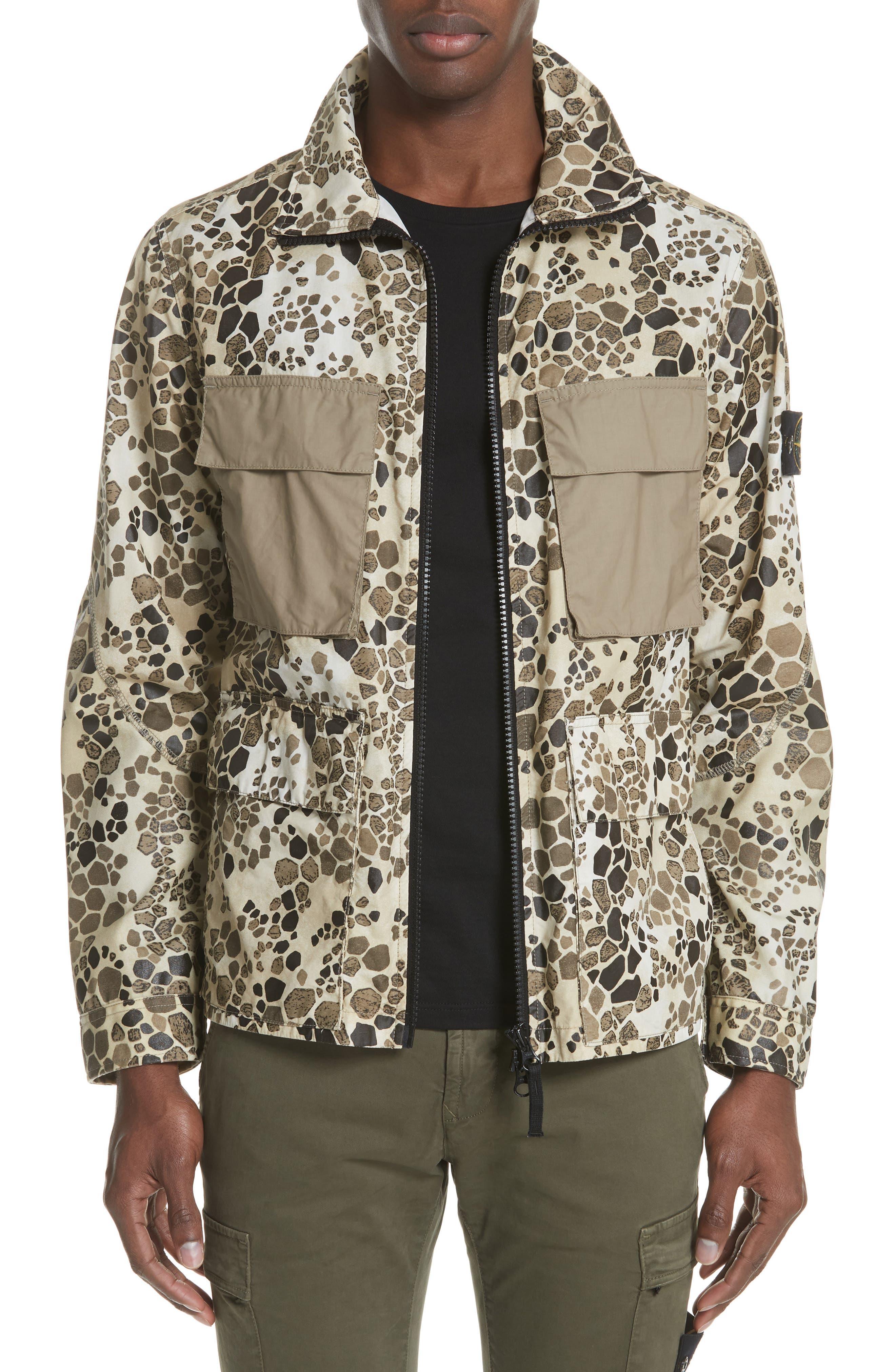 Camo Military Field Jacket,                             Main thumbnail 1, color,                             200