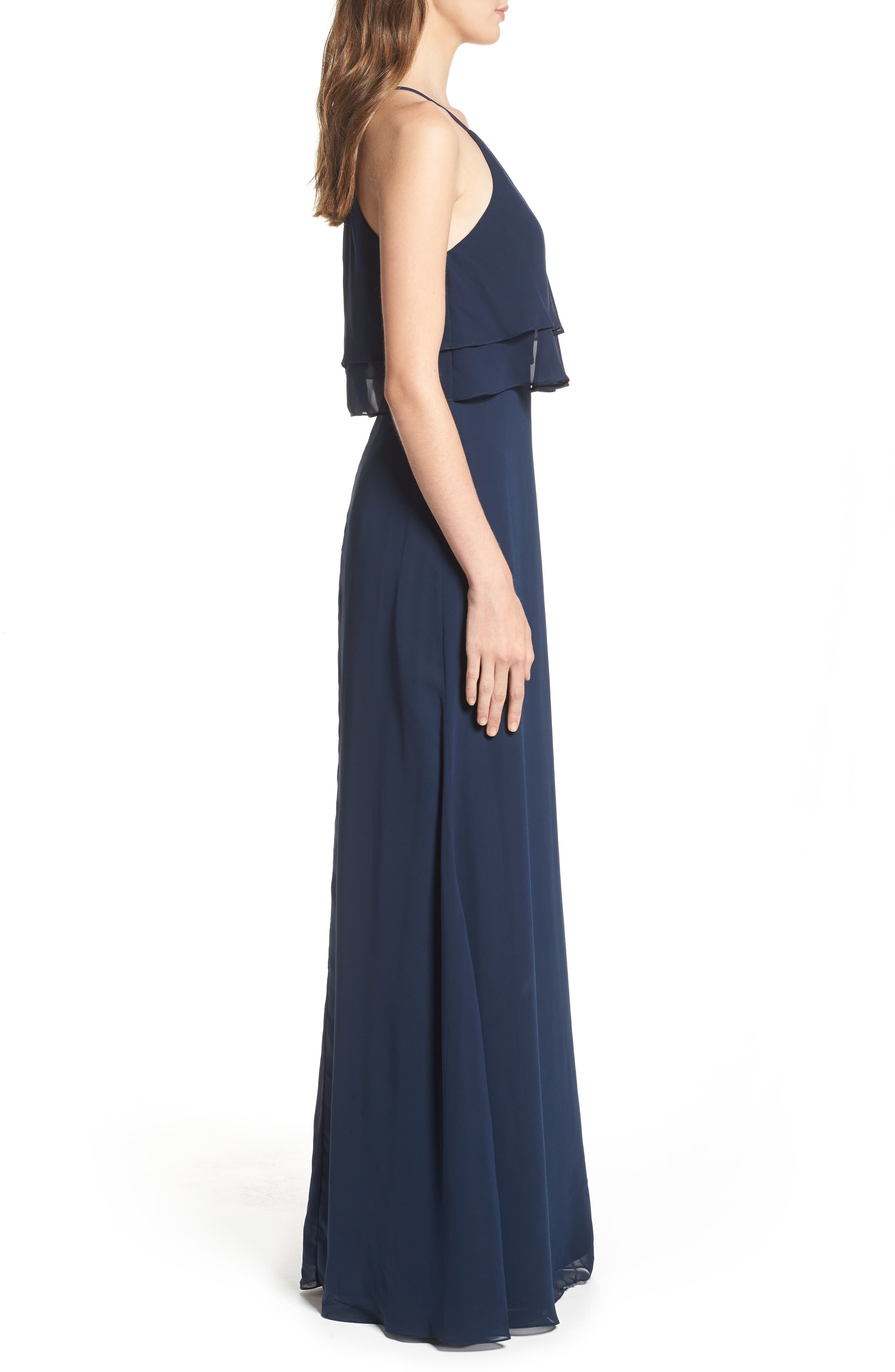 Charlie Ruffle Bodice Gown,                             Alternate thumbnail 20, color,