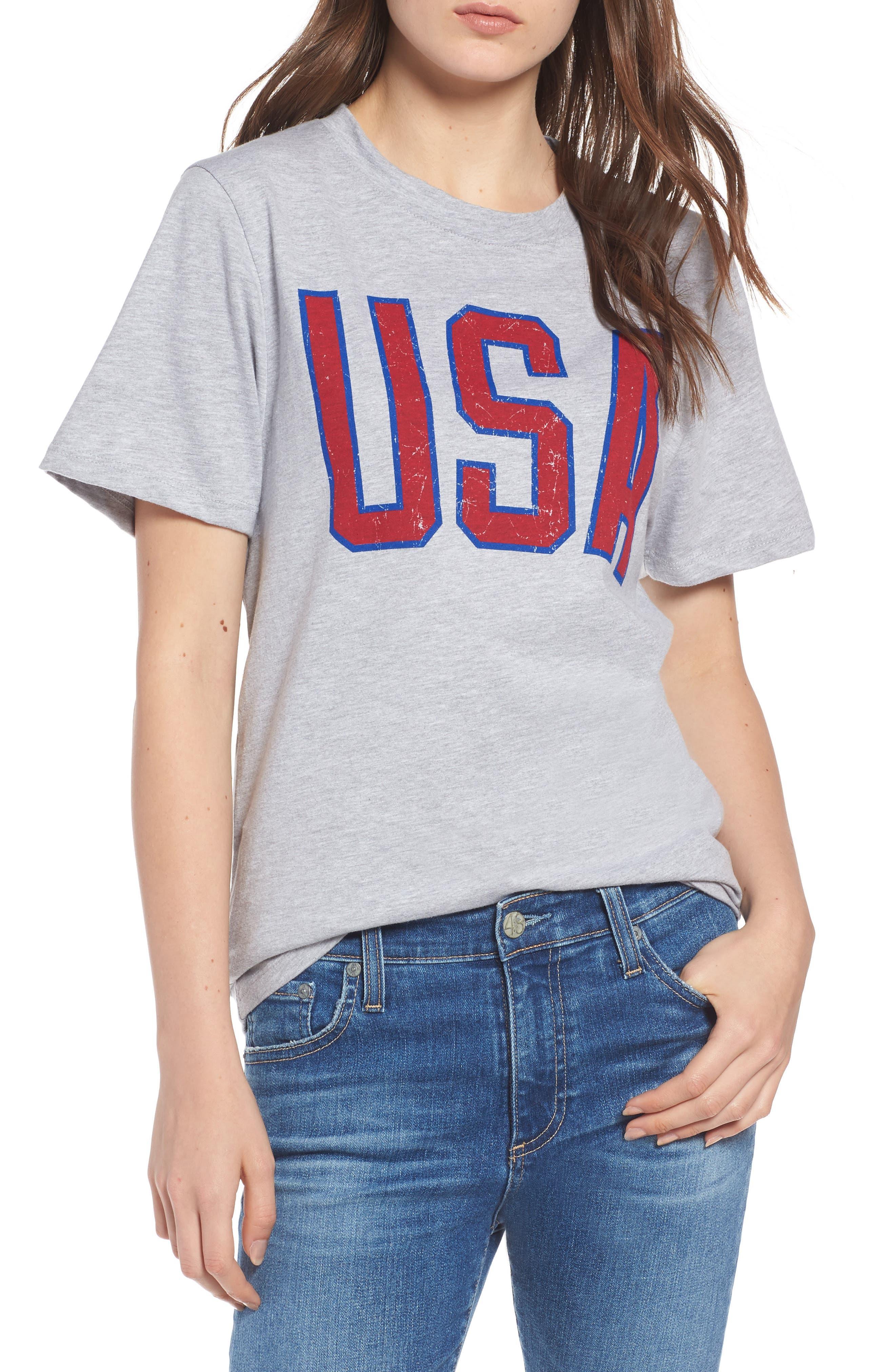 USA Tee,                         Main,                         color, 030