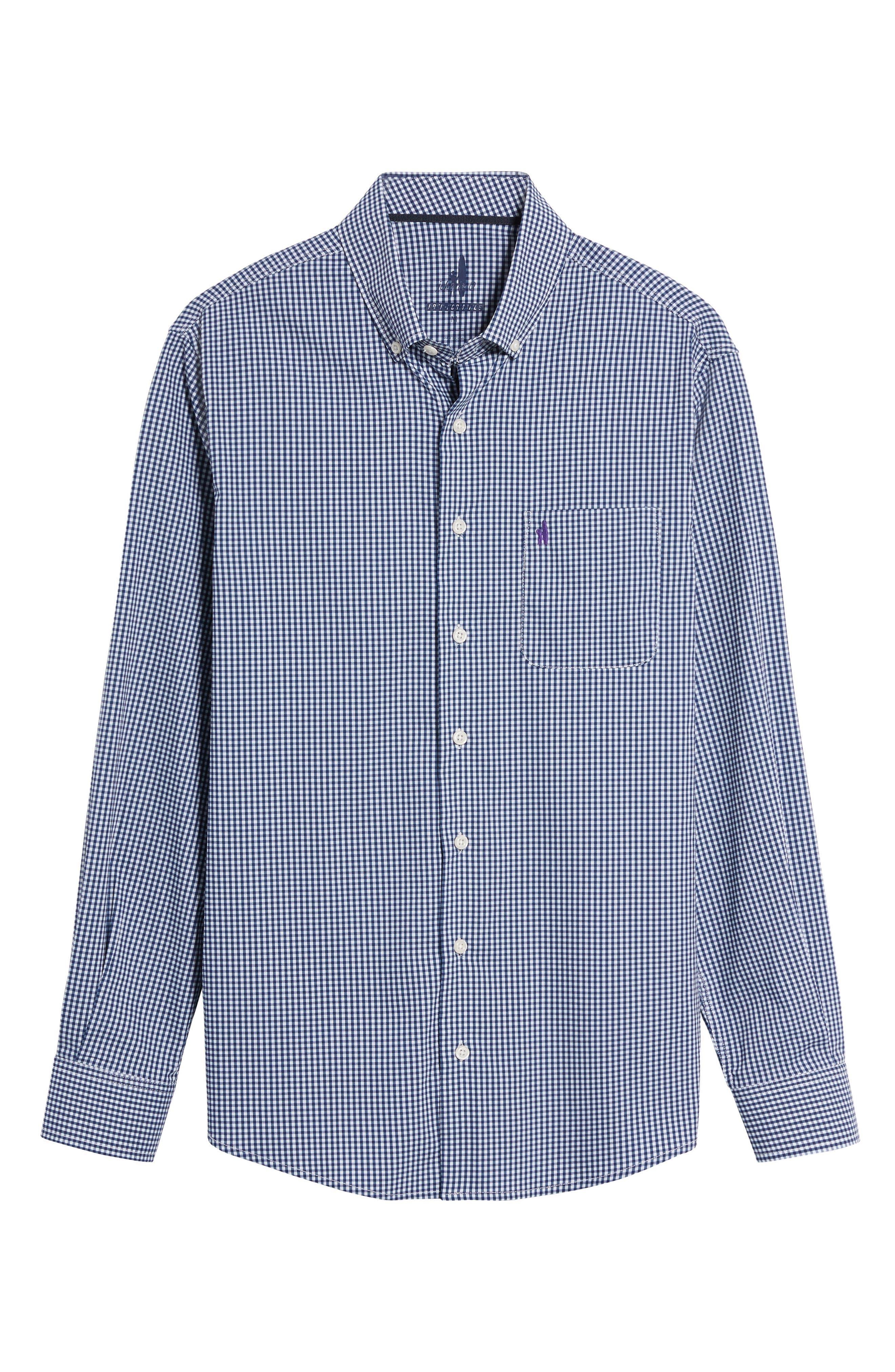 Augusta Classic Fit Check Sport Shirt,                             Alternate thumbnail 6, color,                             464