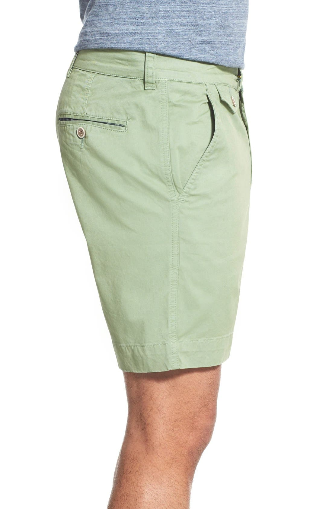 'Sunny' Stretch Twill Chino Shorts,                             Alternate thumbnail 17, color,