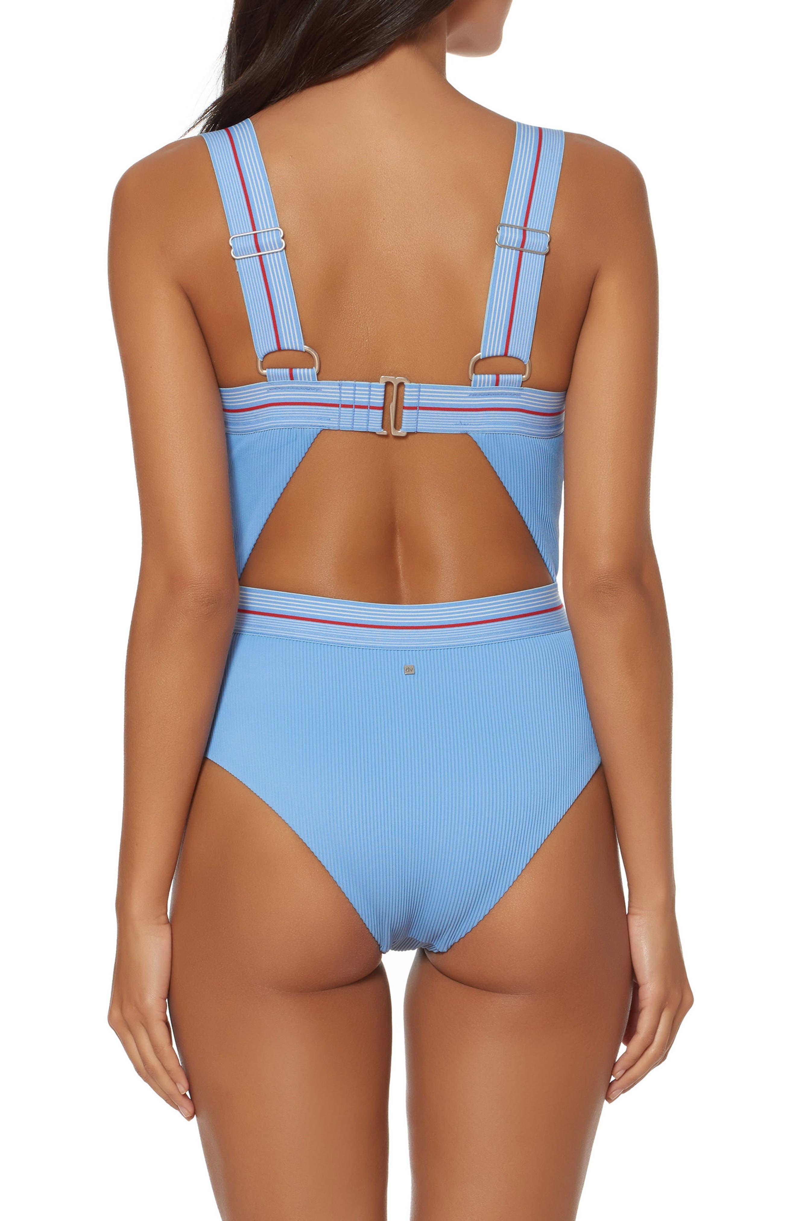 Bondi Beach One-Piece Swimsuit,                             Alternate thumbnail 2, color,                             452