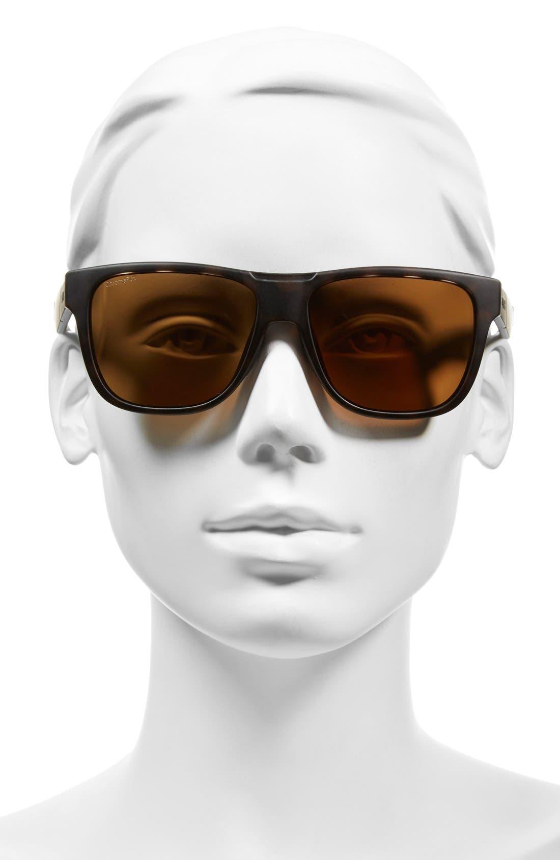 'Lowdown' 56mm Polarized Sunglasses,                             Alternate thumbnail 2, color,                             201
