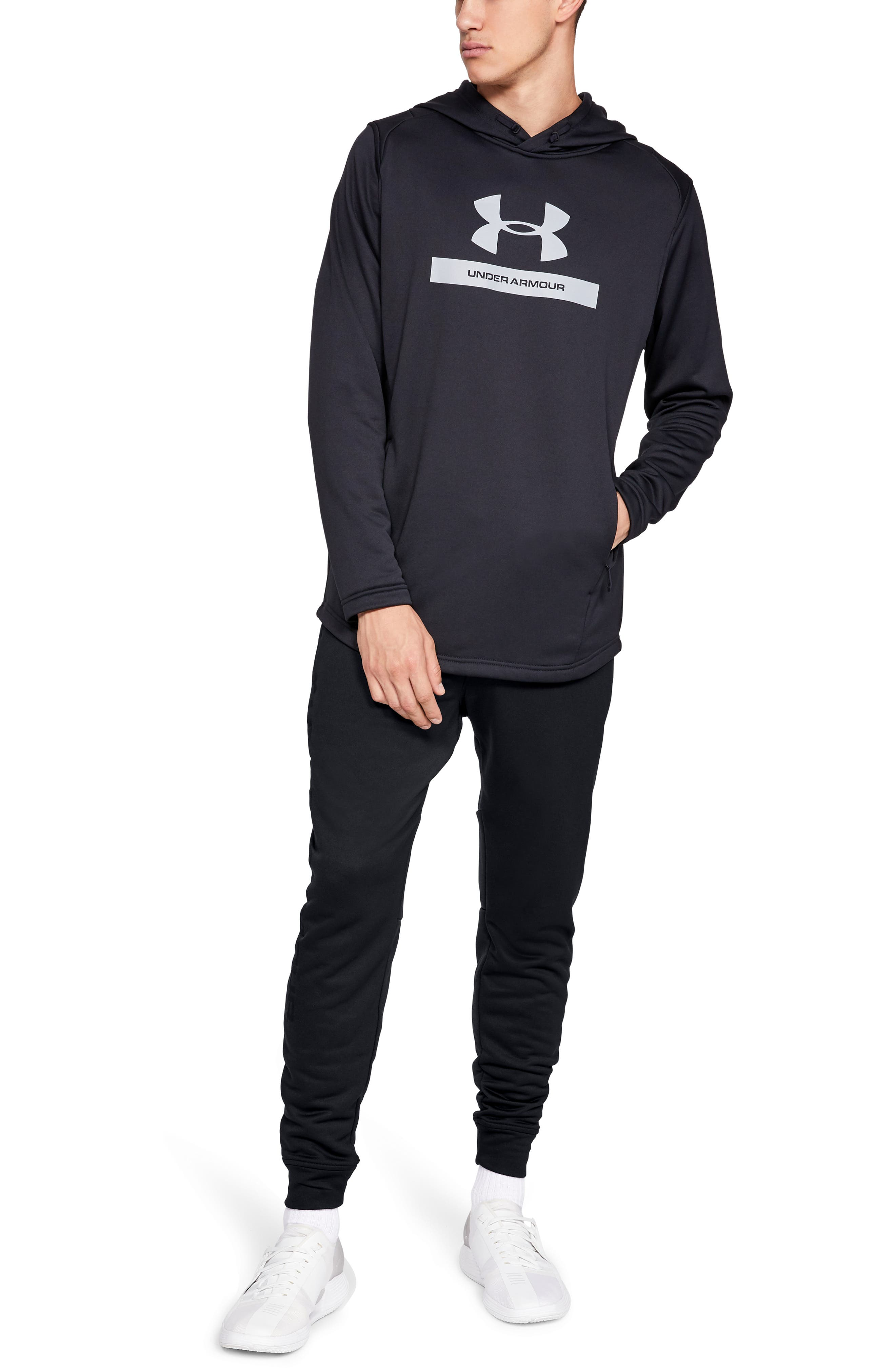 MK1 French Terry Joggers,                             Alternate thumbnail 3, color,                             BLACK/ BLACK