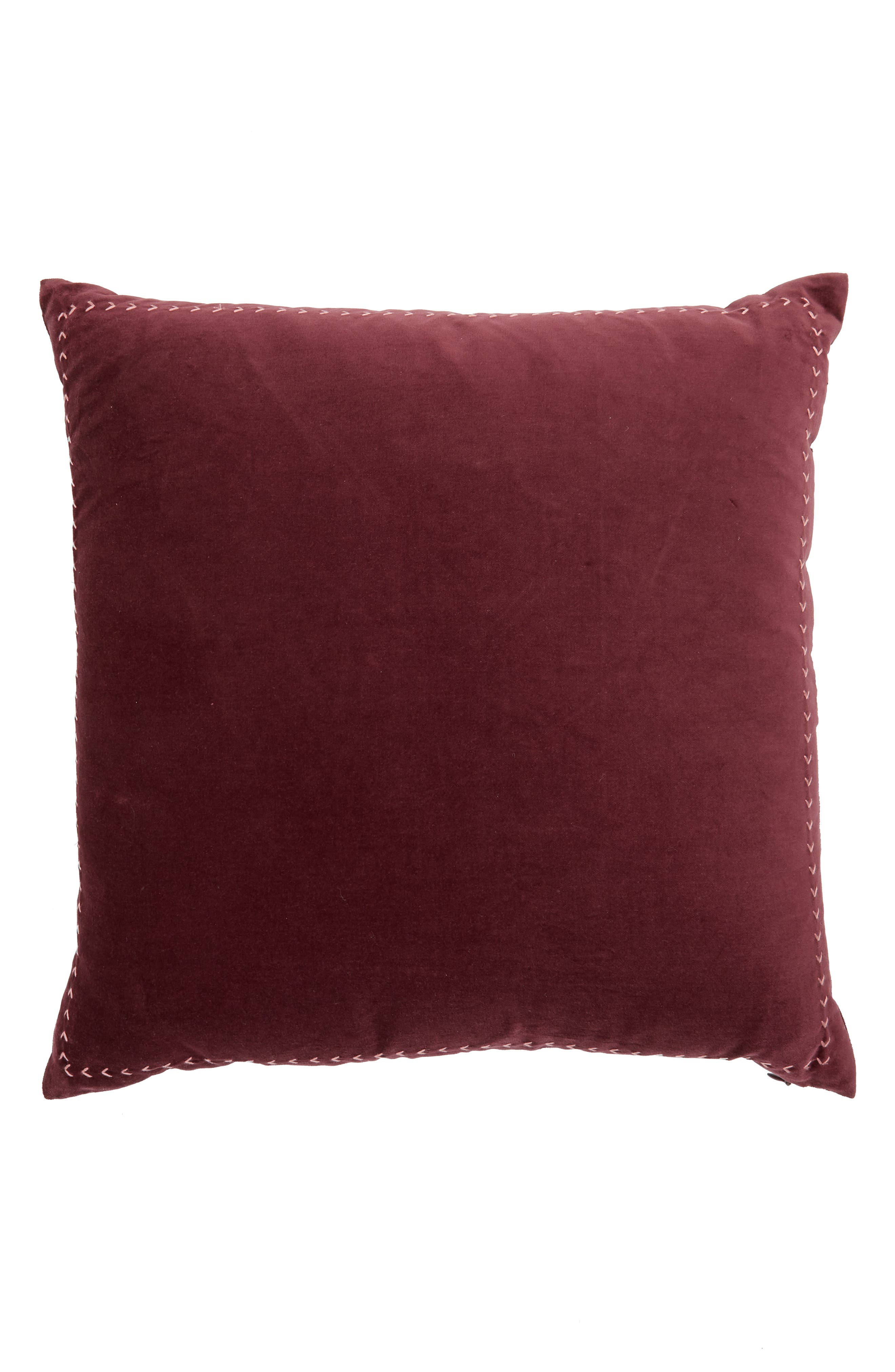 Velvet Accent Pillow,                             Alternate thumbnail 4, color,