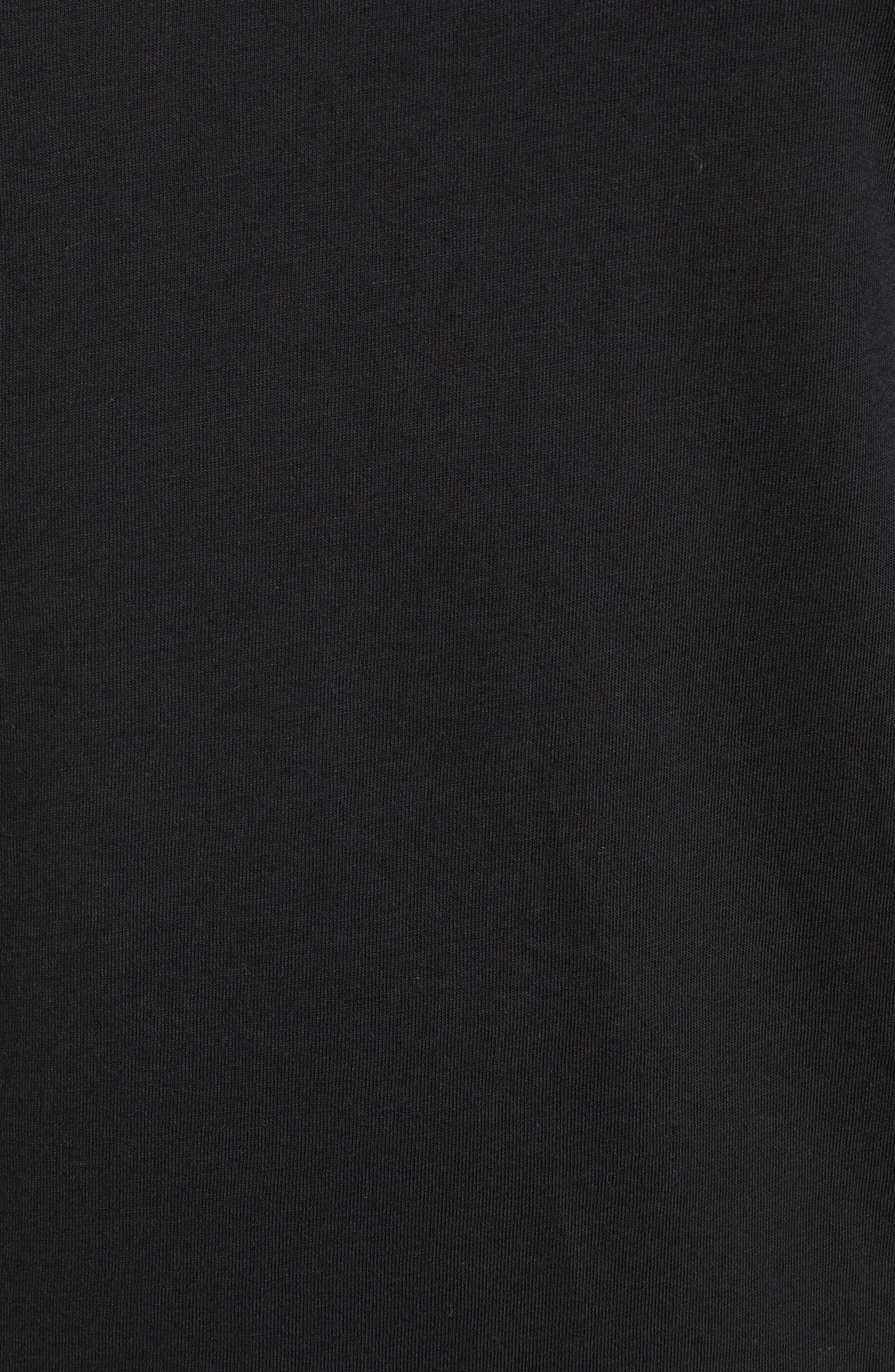 Nike Dry 23 Alpha Hooded Shirt,                             Alternate thumbnail 5, color,                             010