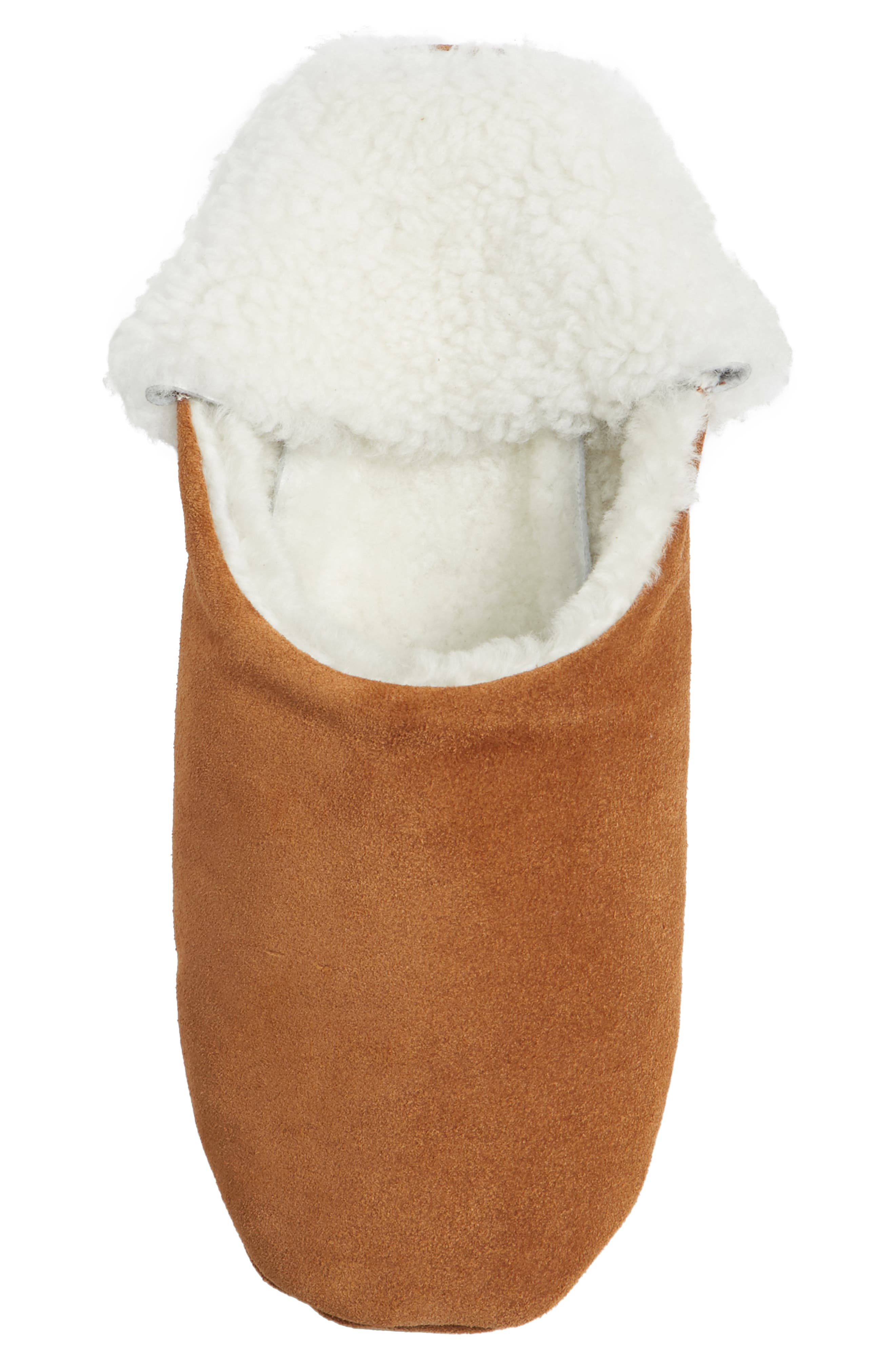 Moroccan Indoor Slipper,                             Alternate thumbnail 6, color,                             SADDLE/ IVORY