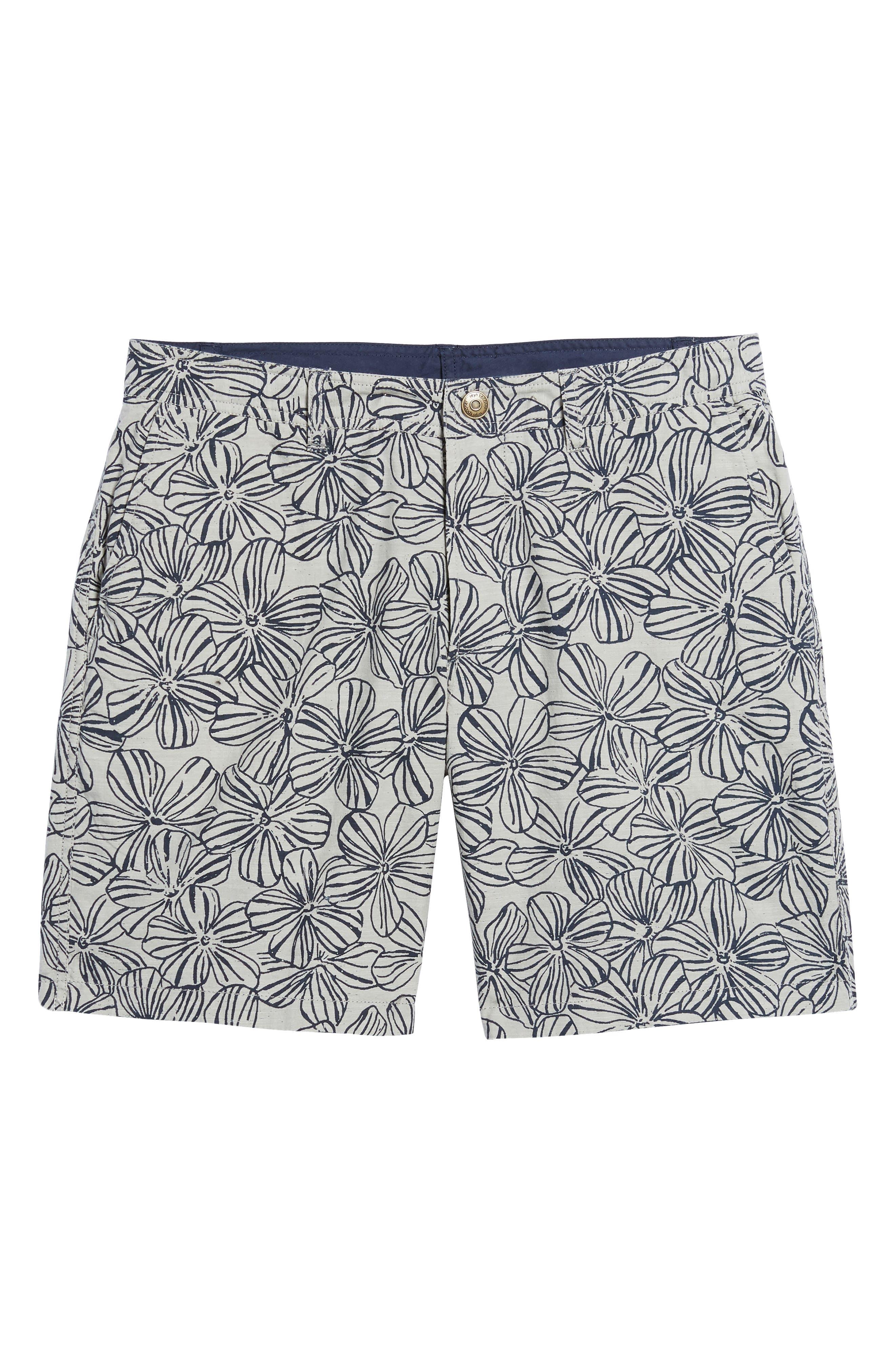 Mala Melia Reversible Chino Shorts,                             Alternate thumbnail 7, color,                             030