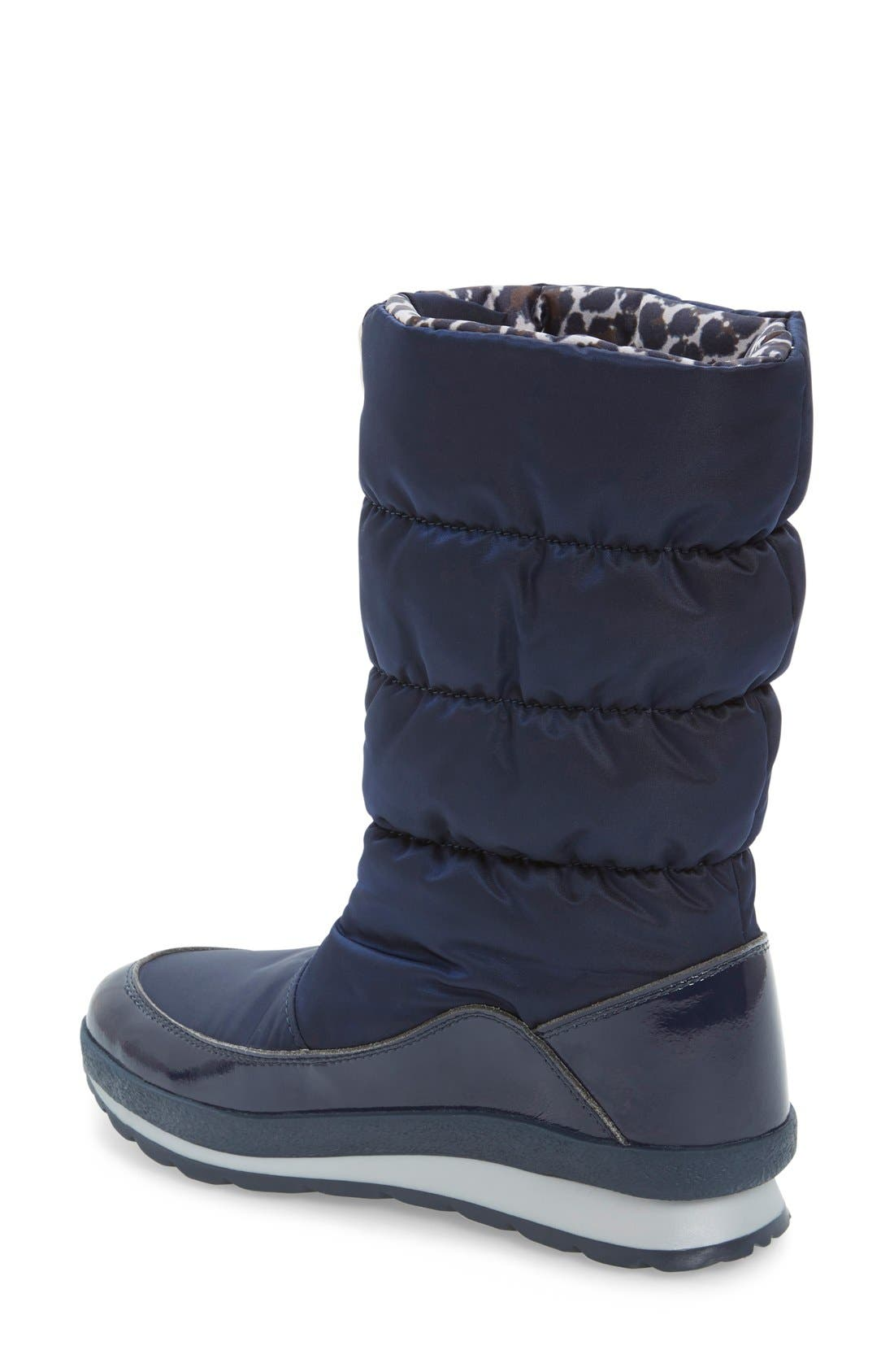 Cervina Waterproof Zip-Up Channel Quilted Boot,                             Alternate thumbnail 16, color,