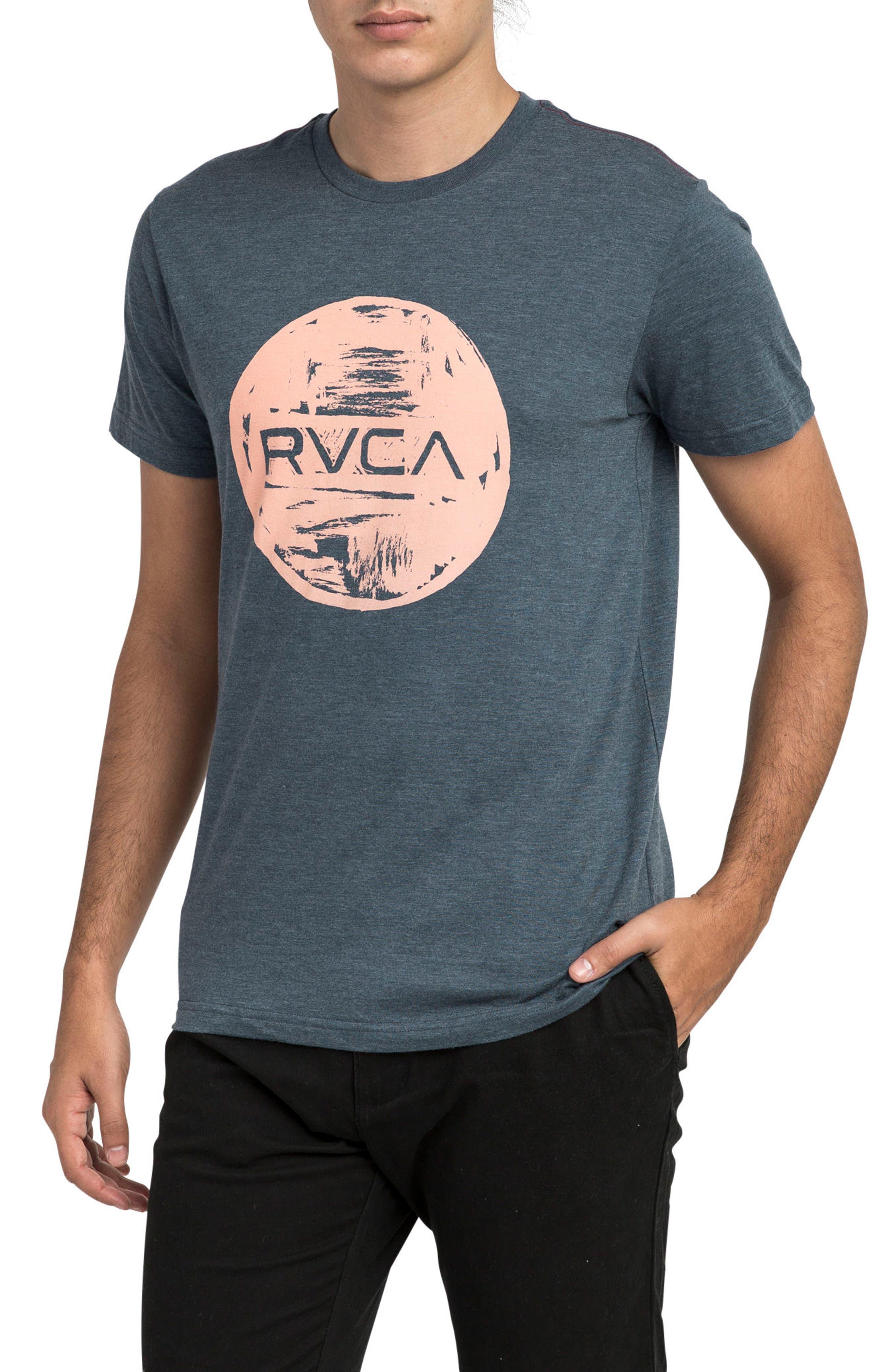 Motors Inc Logo Graphic T-Shirt,                             Main thumbnail 1, color,                             DARK DENIM