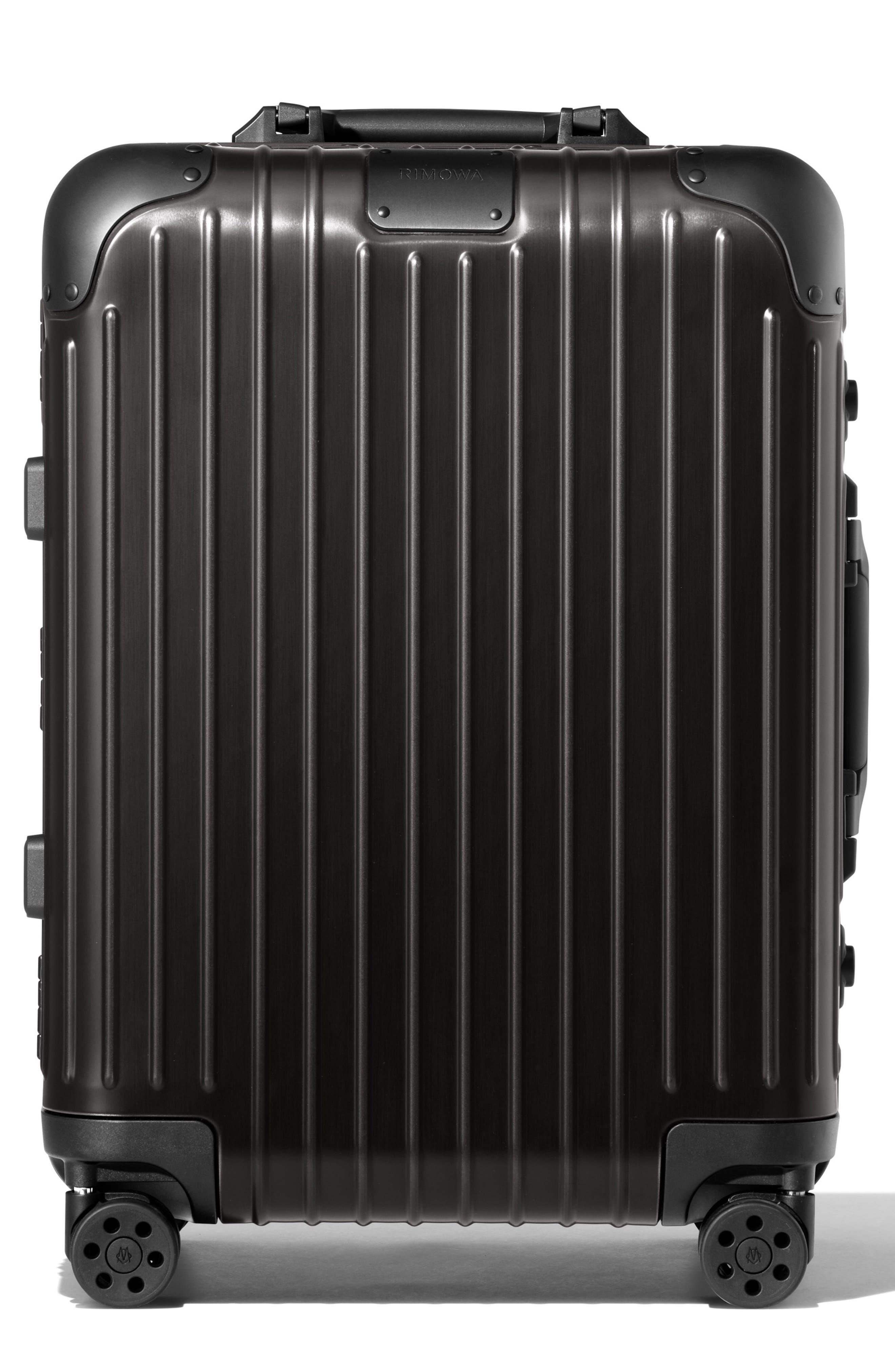 Original Cabin 22-Inch Packing Case,                         Main,                         color, BLACK