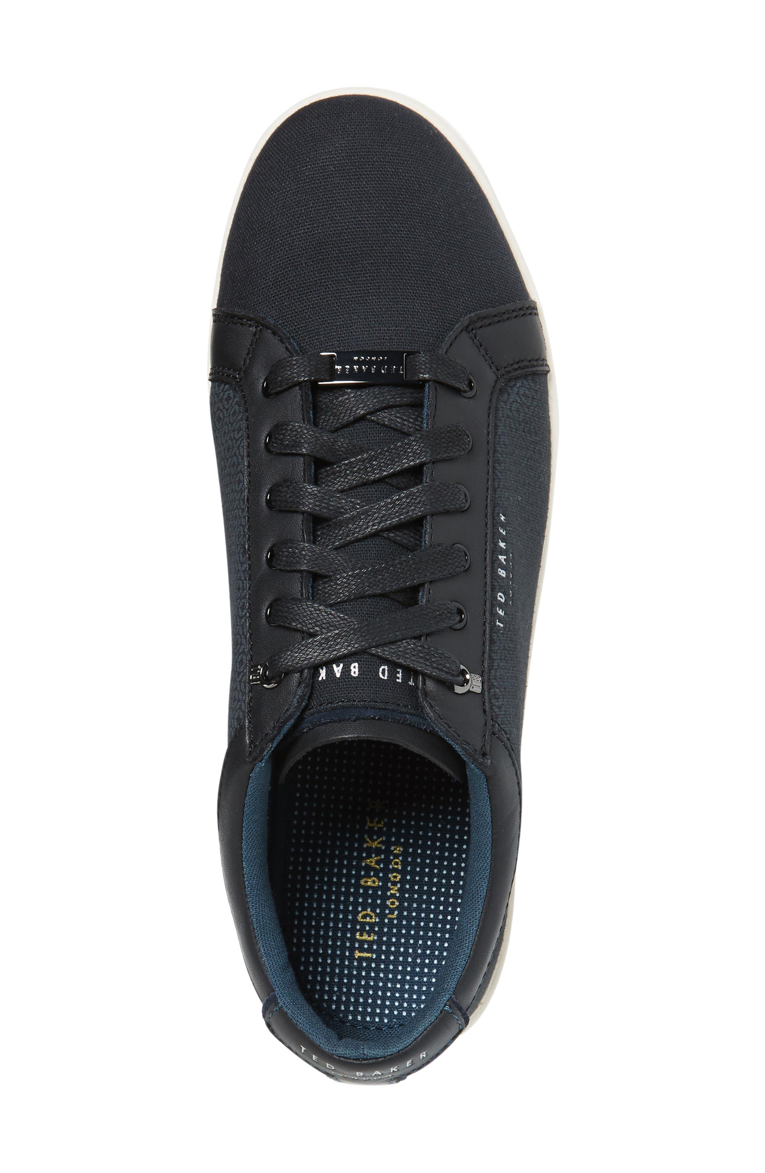 Ternur Geo Print Sneaker,                             Alternate thumbnail 3, color,                             011