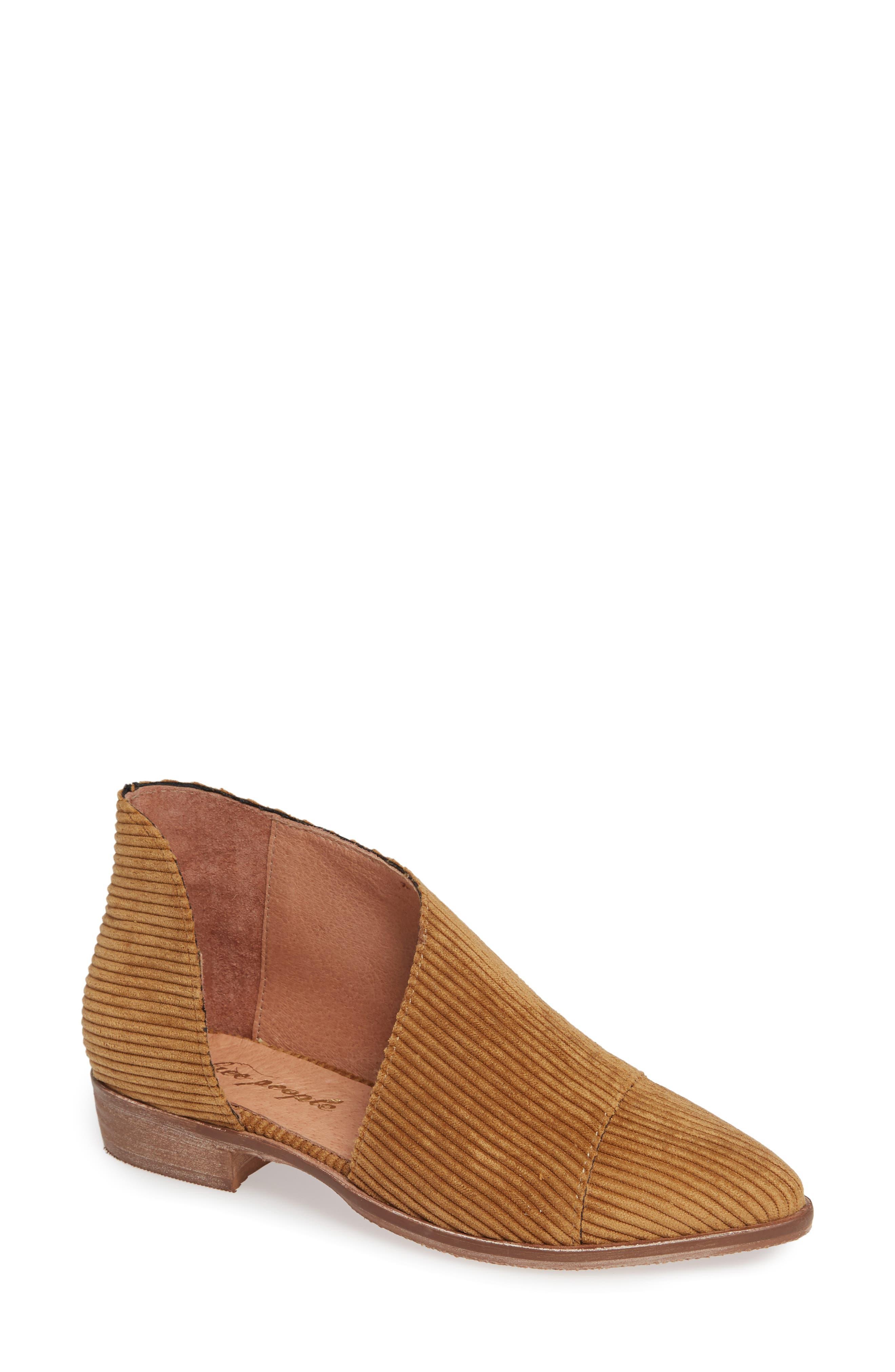 'Royale' Pointy Toe Flat,                         Main,                         color, GOLD