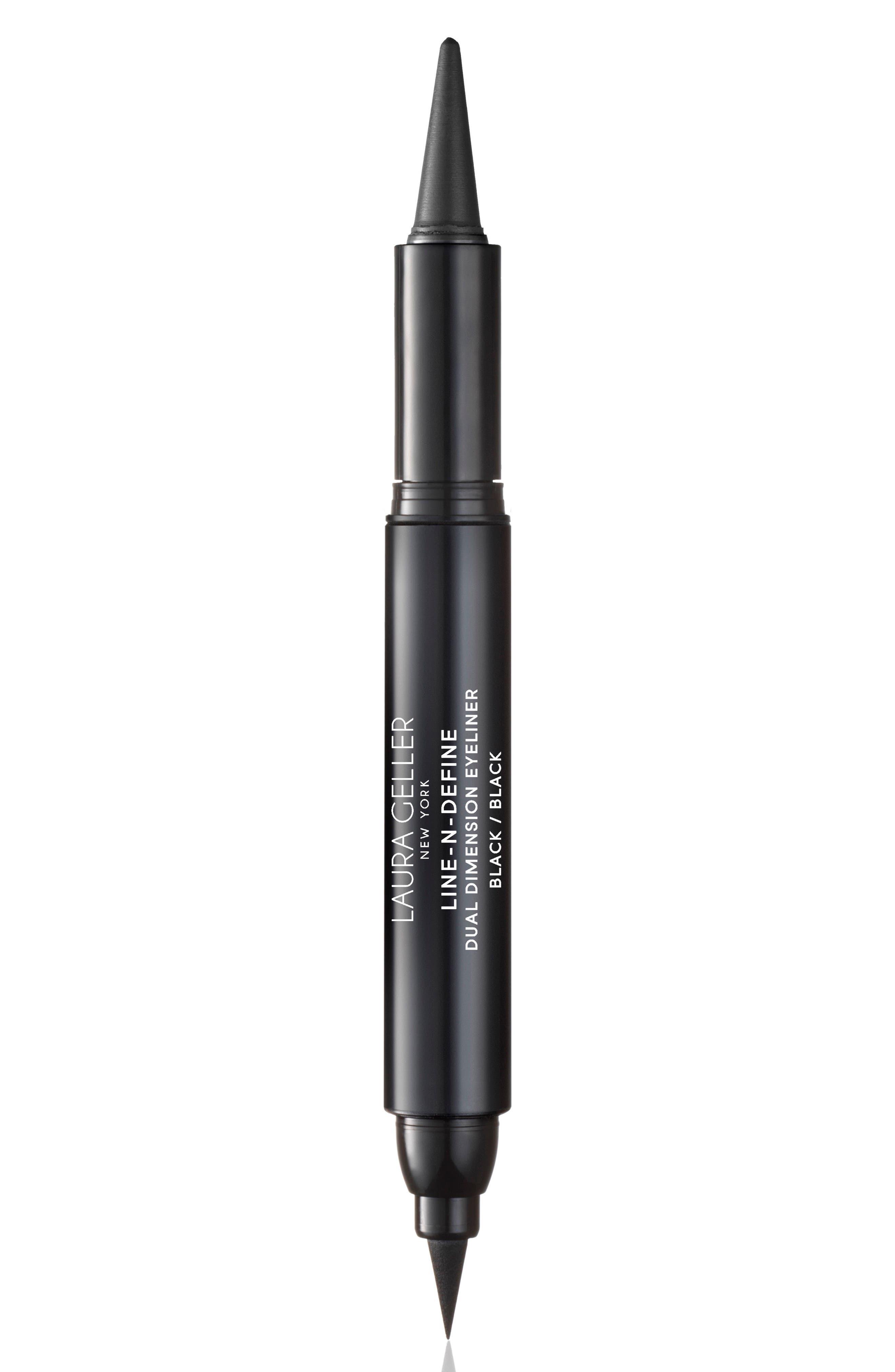 Line-N-Define Dual Dimension Eyeliner,                             Main thumbnail 1, color,                             BLACK