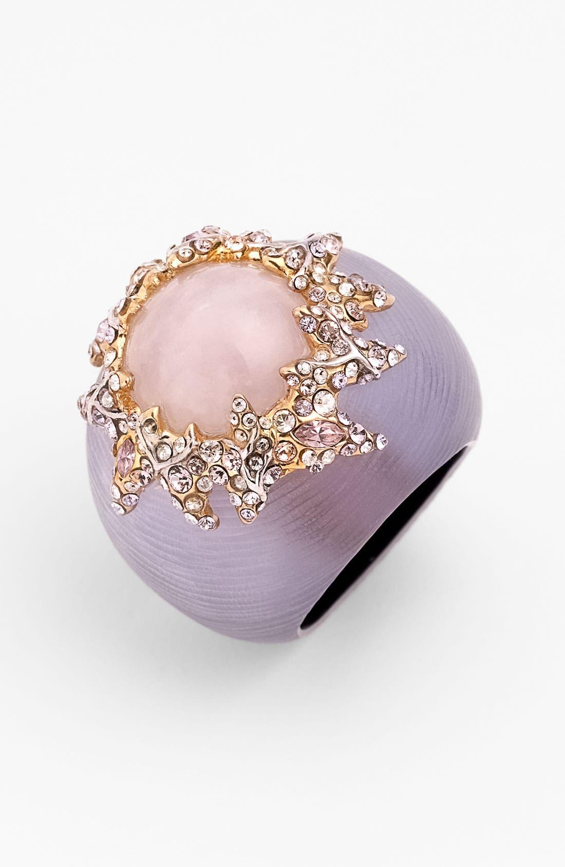 ALEXIS BITTAR,                             Rosy Ring,                             Main thumbnail 1, color,                             530