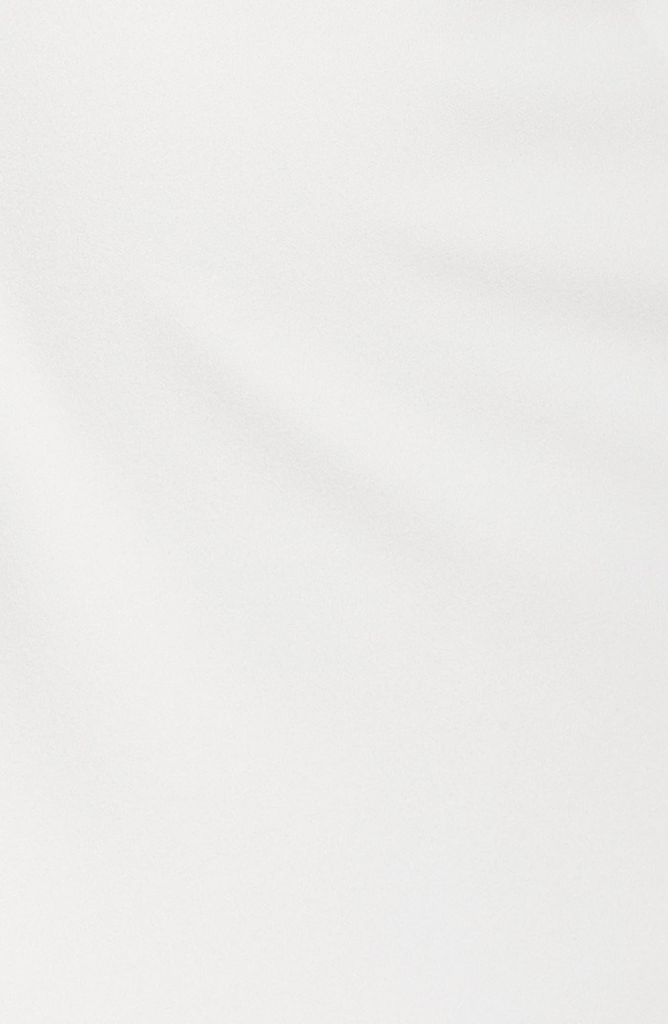 Embellished Crepe Trumpet Gown,                             Alternate thumbnail 5, color,