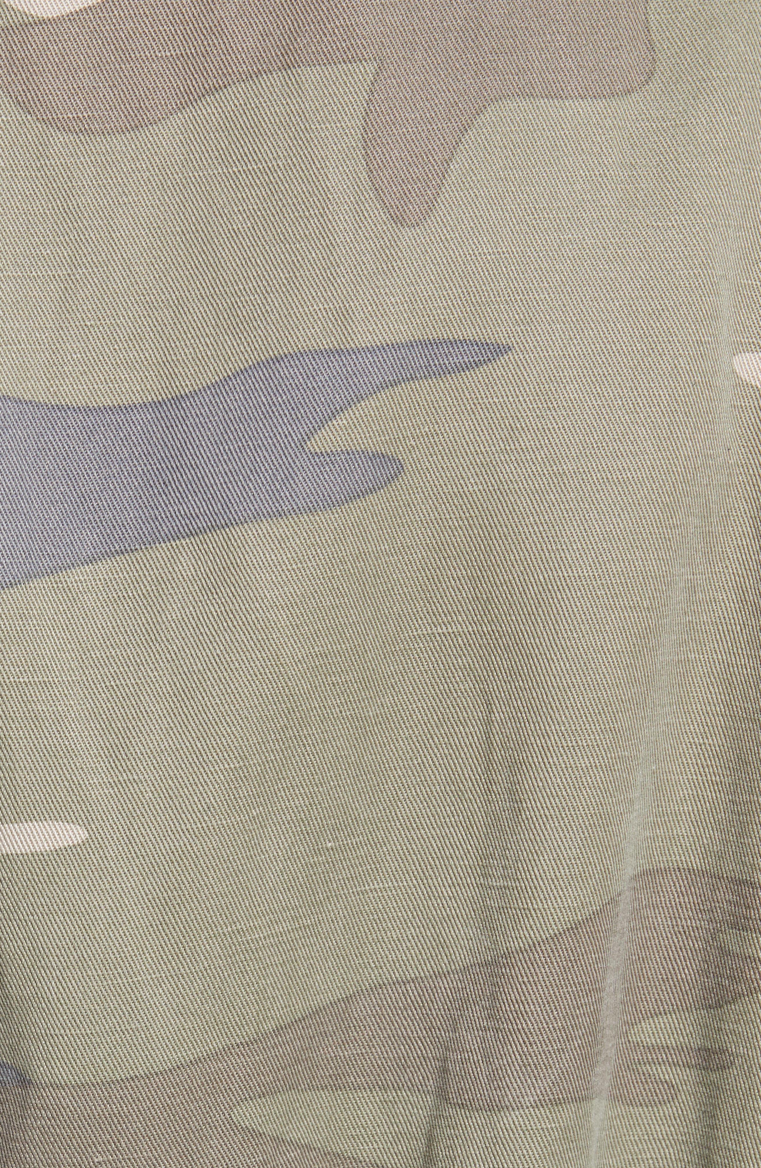 Whitaker Camo Utility Linen Blend Jacket,                             Alternate thumbnail 8, color,                             SAGE CAMO