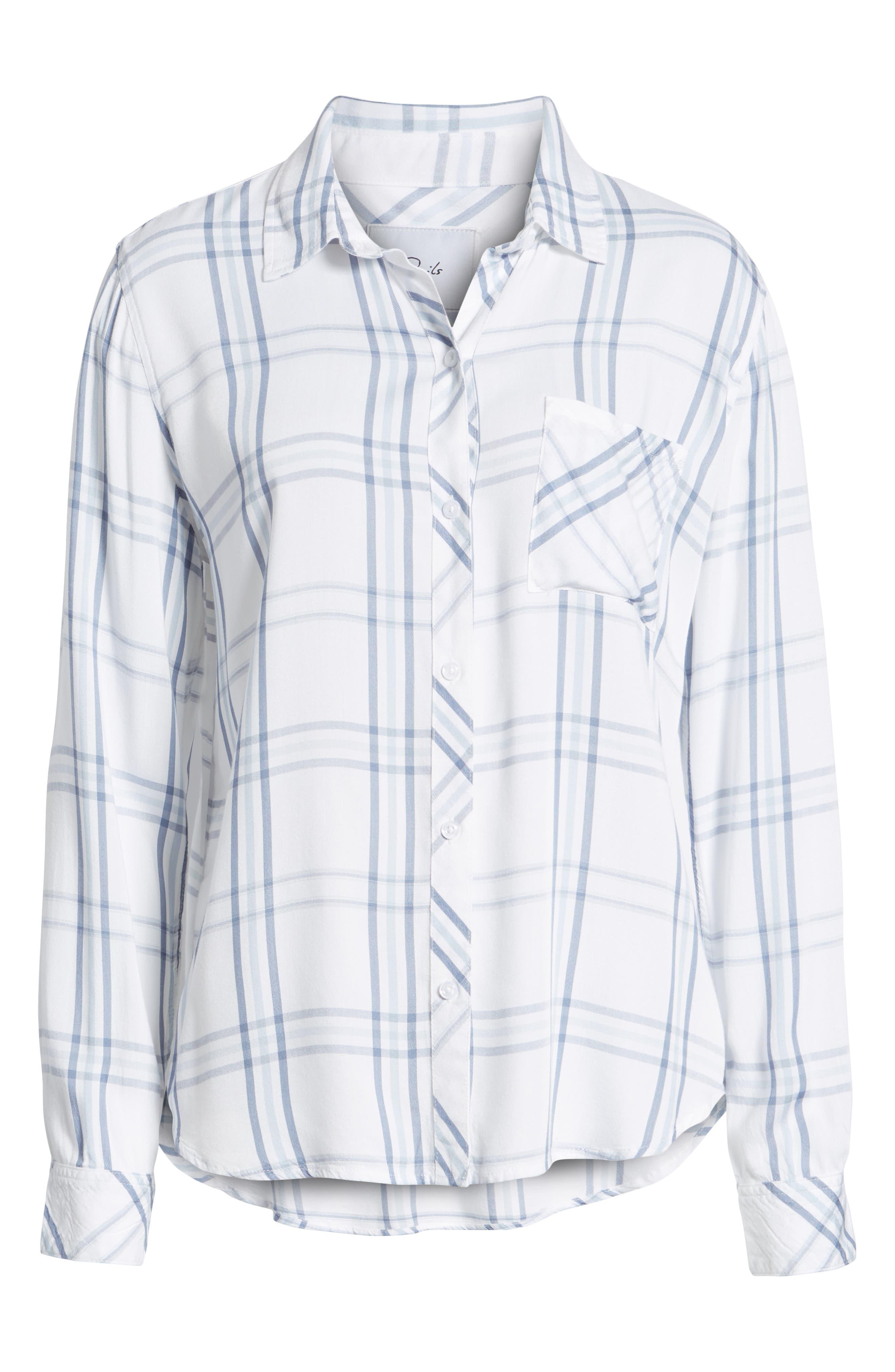 Hunter Plaid Shirt,                             Alternate thumbnail 702, color,