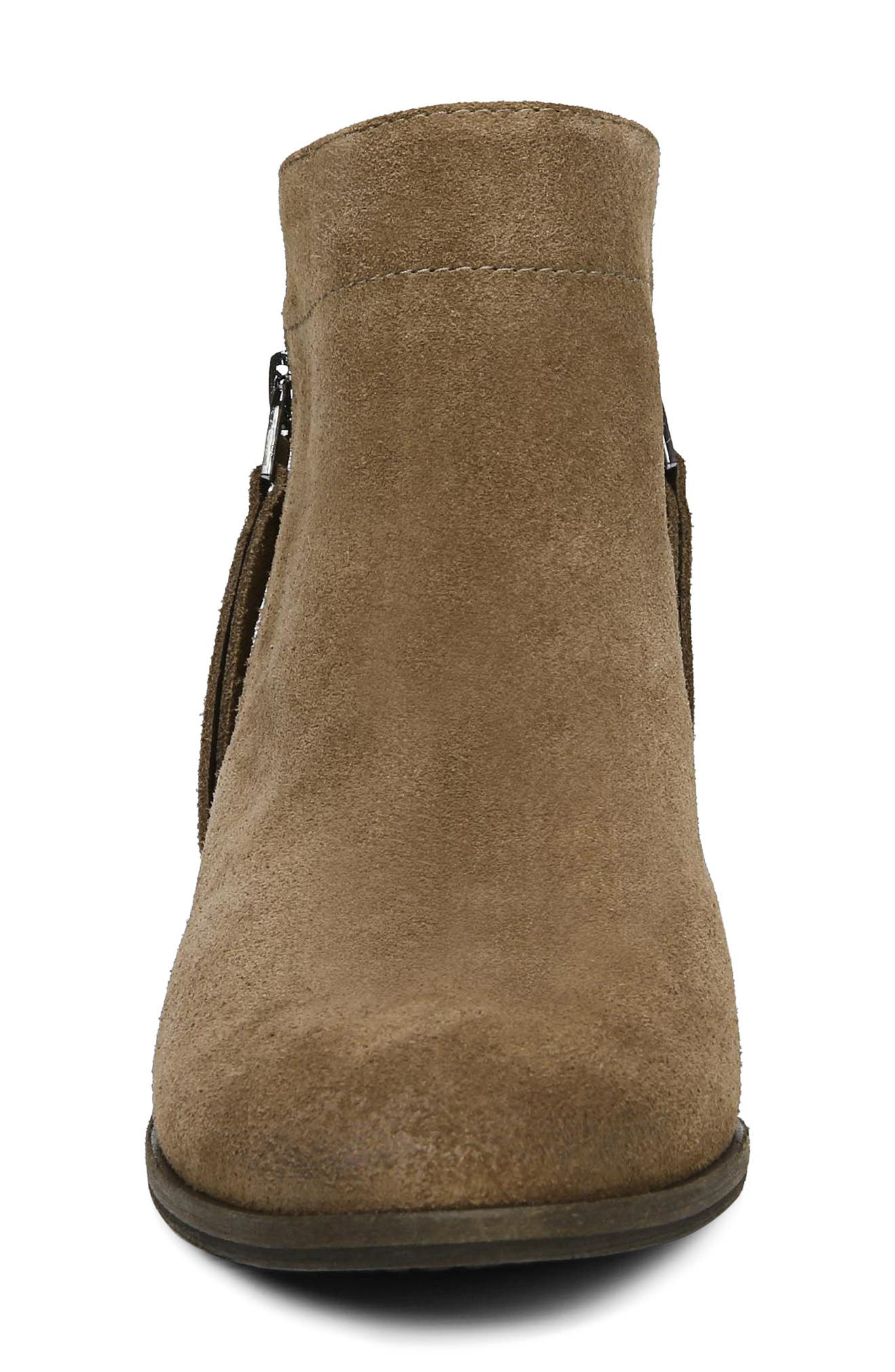 Packer Bootie,                             Alternate thumbnail 4, color,                             DARK TAUPE SUEDE LEATHER