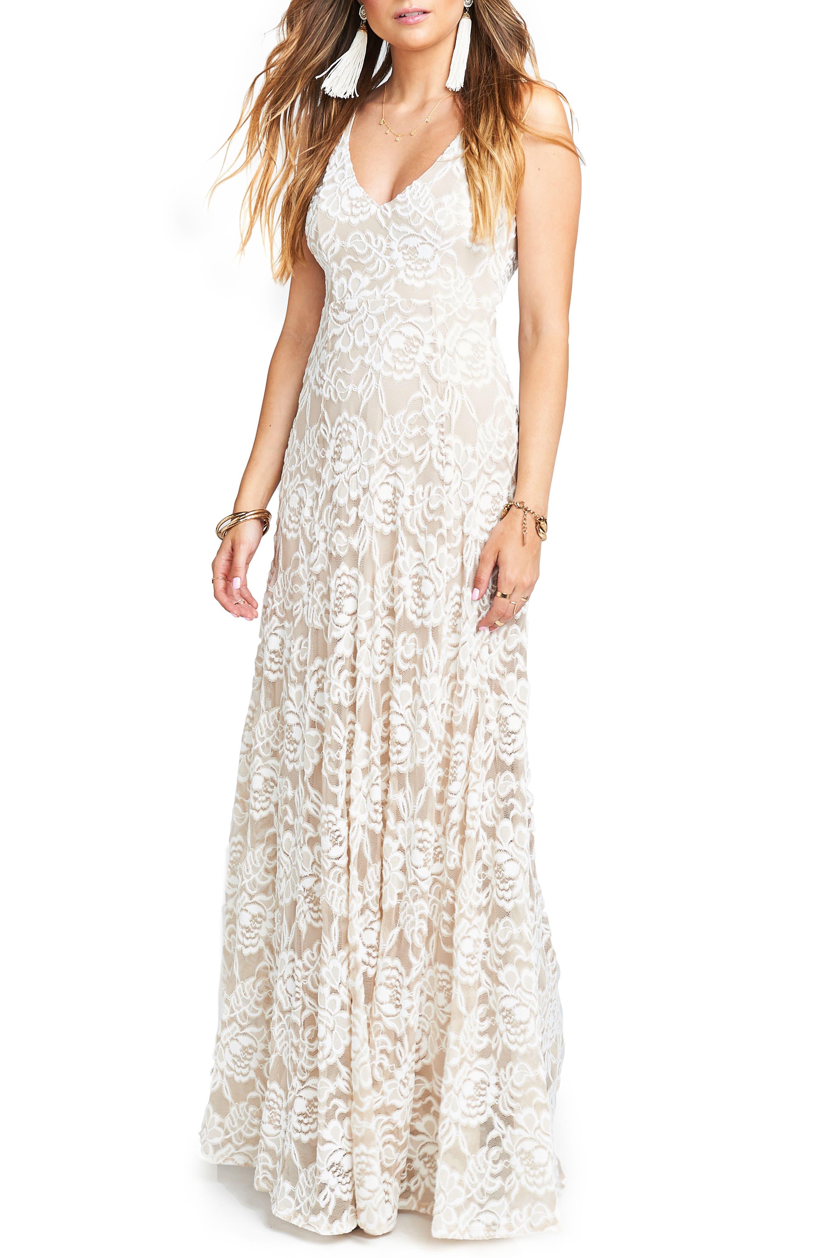 Jen Lace Dress,                             Main thumbnail 1, color,                             LOVERS LACE SHOW ME THE RING