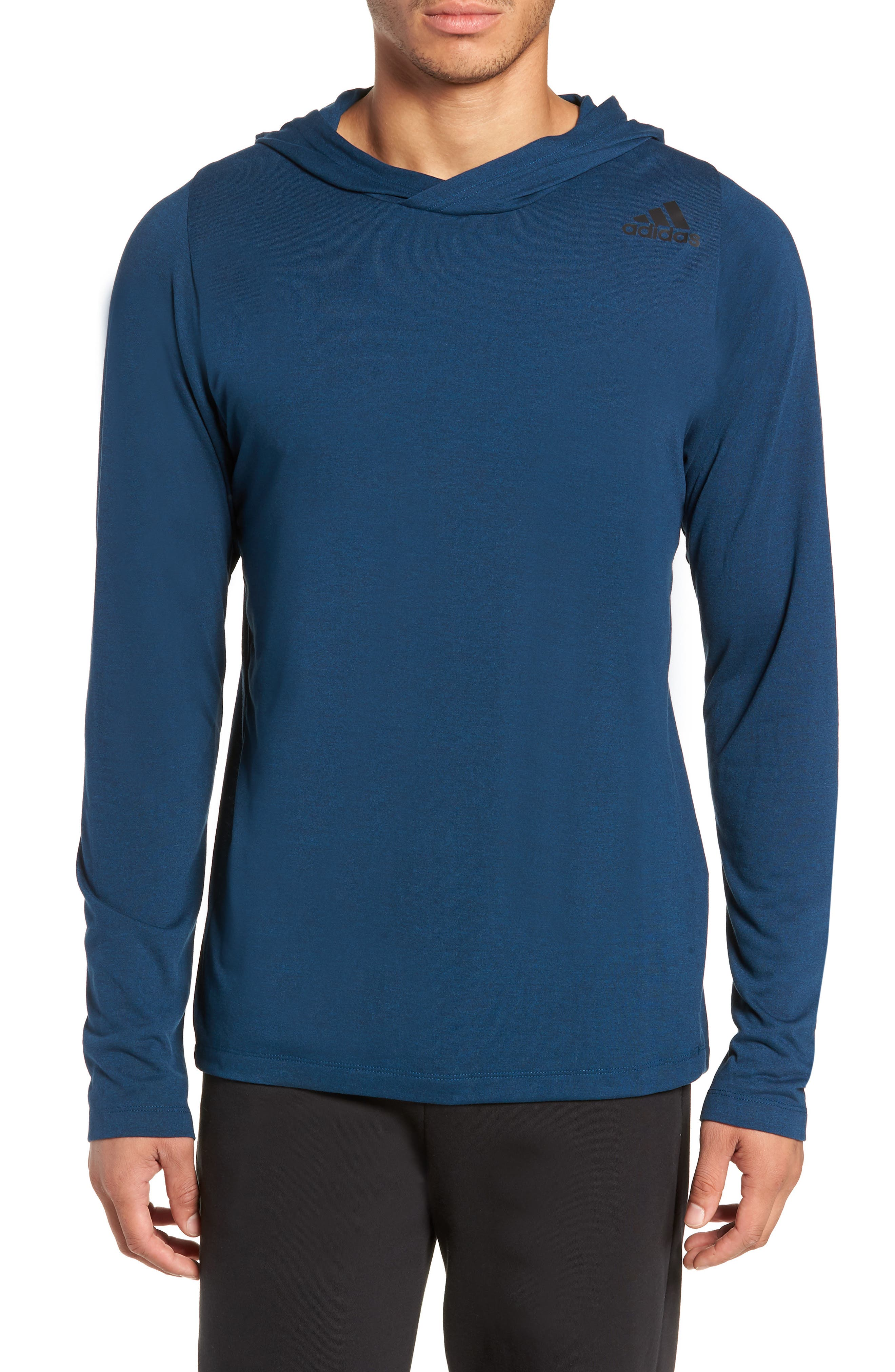 Adidas Technical Pullover Hoodie, Blue
