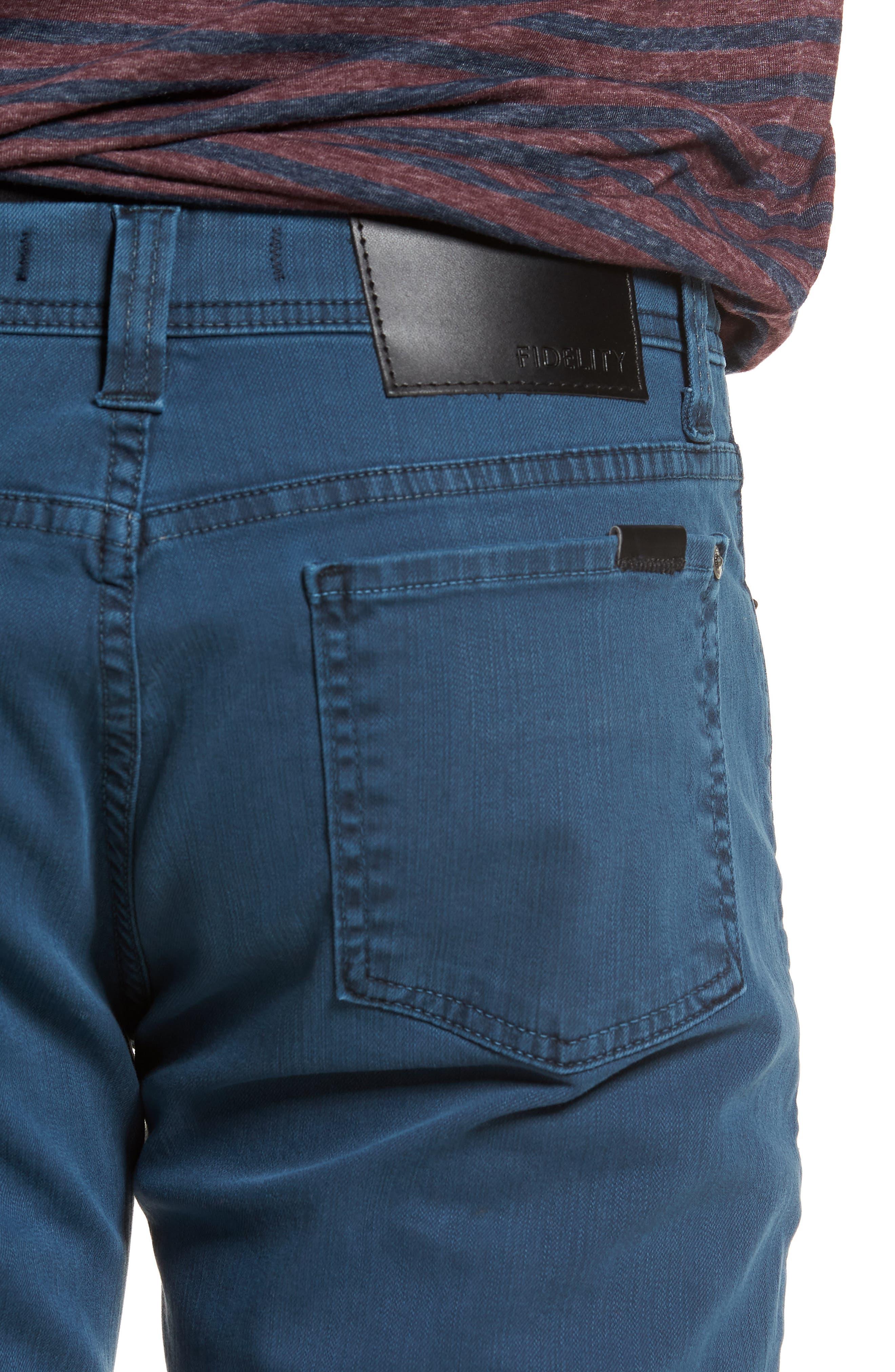 Jimmy Slim Straight Leg Jeans,                             Alternate thumbnail 4, color,                             400
