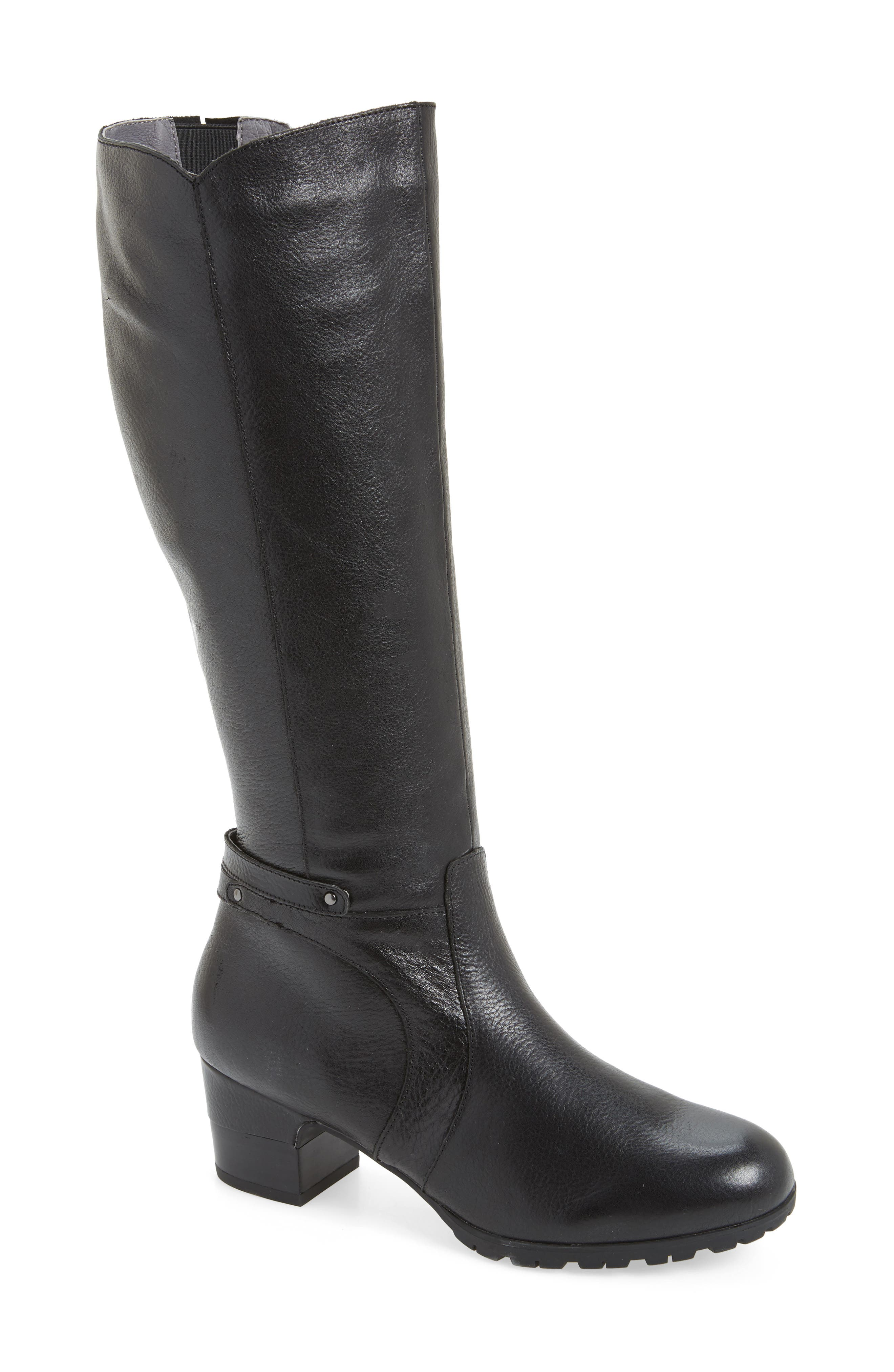 Chai Water-Resistant Boot,                             Main thumbnail 1, color,                             001