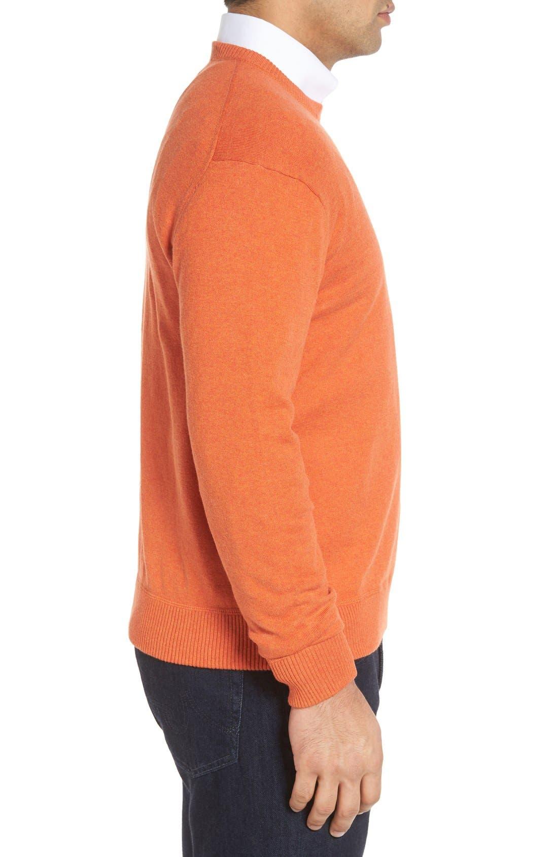 'Jersey Sport' Cotton Blend Crewneck Sweater,                             Alternate thumbnail 23, color,
