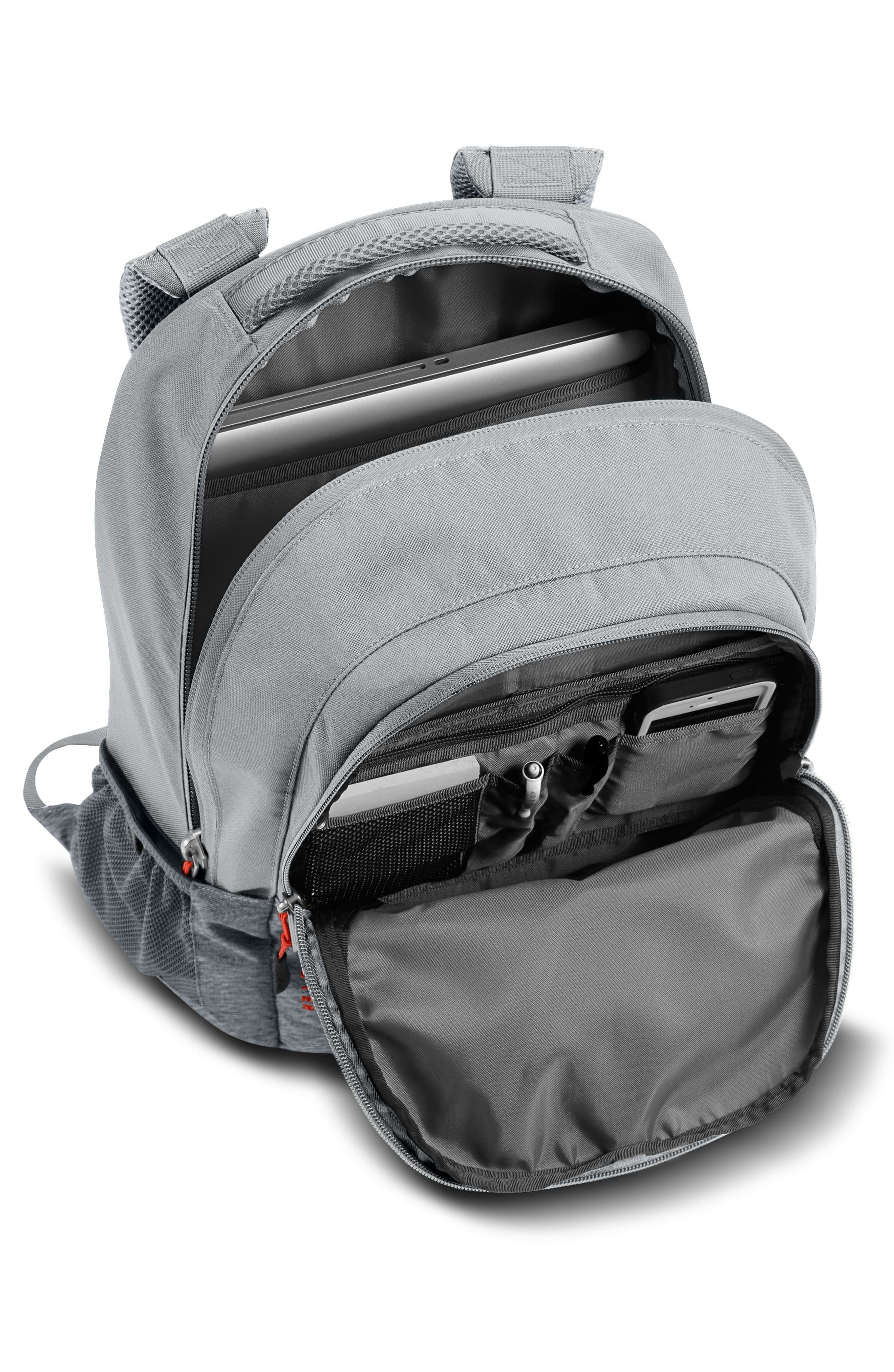 Jester Backpack,                             Alternate thumbnail 3, color,                             GREY DARK HTHER/HIGH RISE GREY