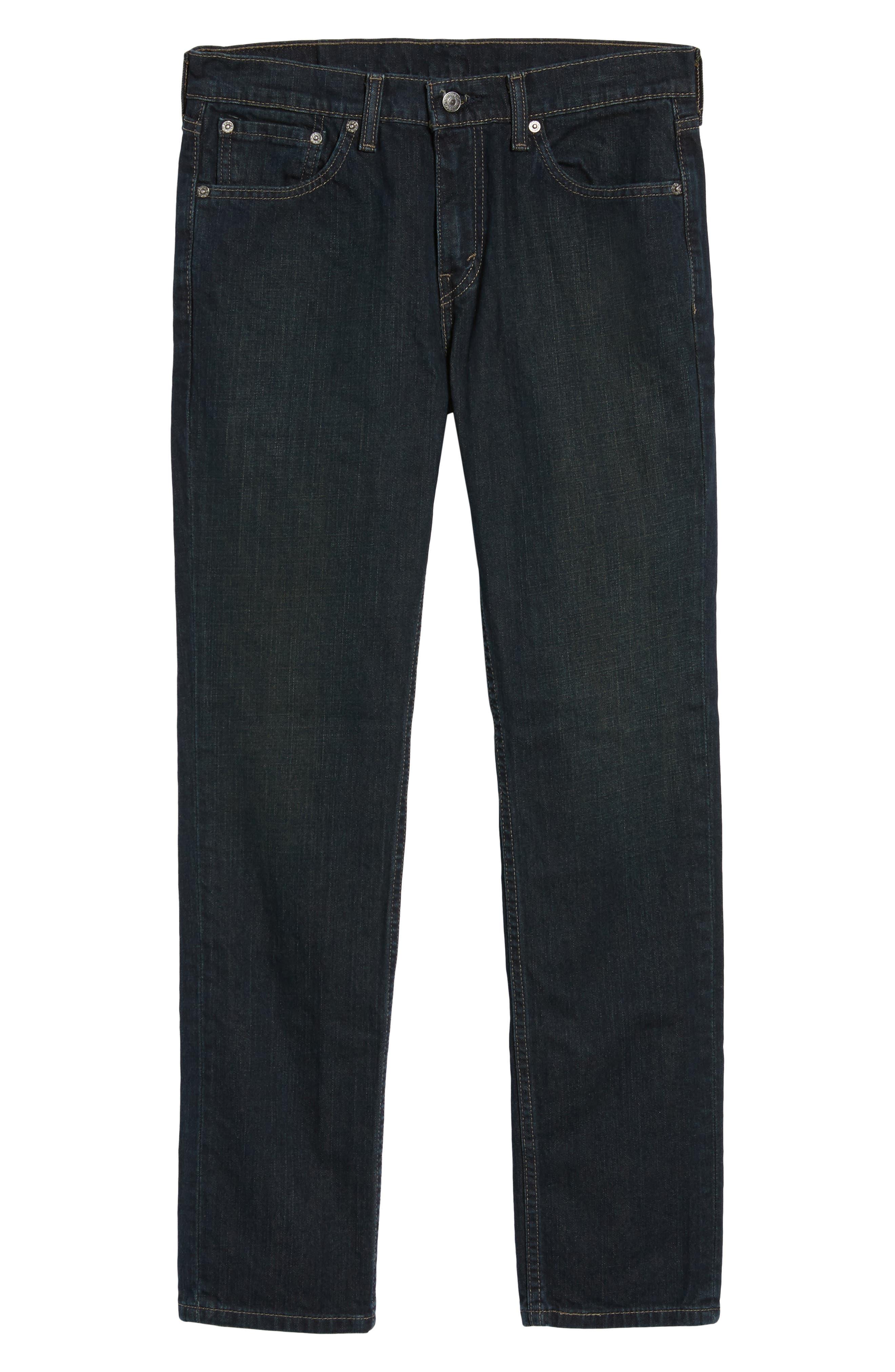 Levi's 511 Slim Fit Jeans,                             Alternate thumbnail 6, color,                             402