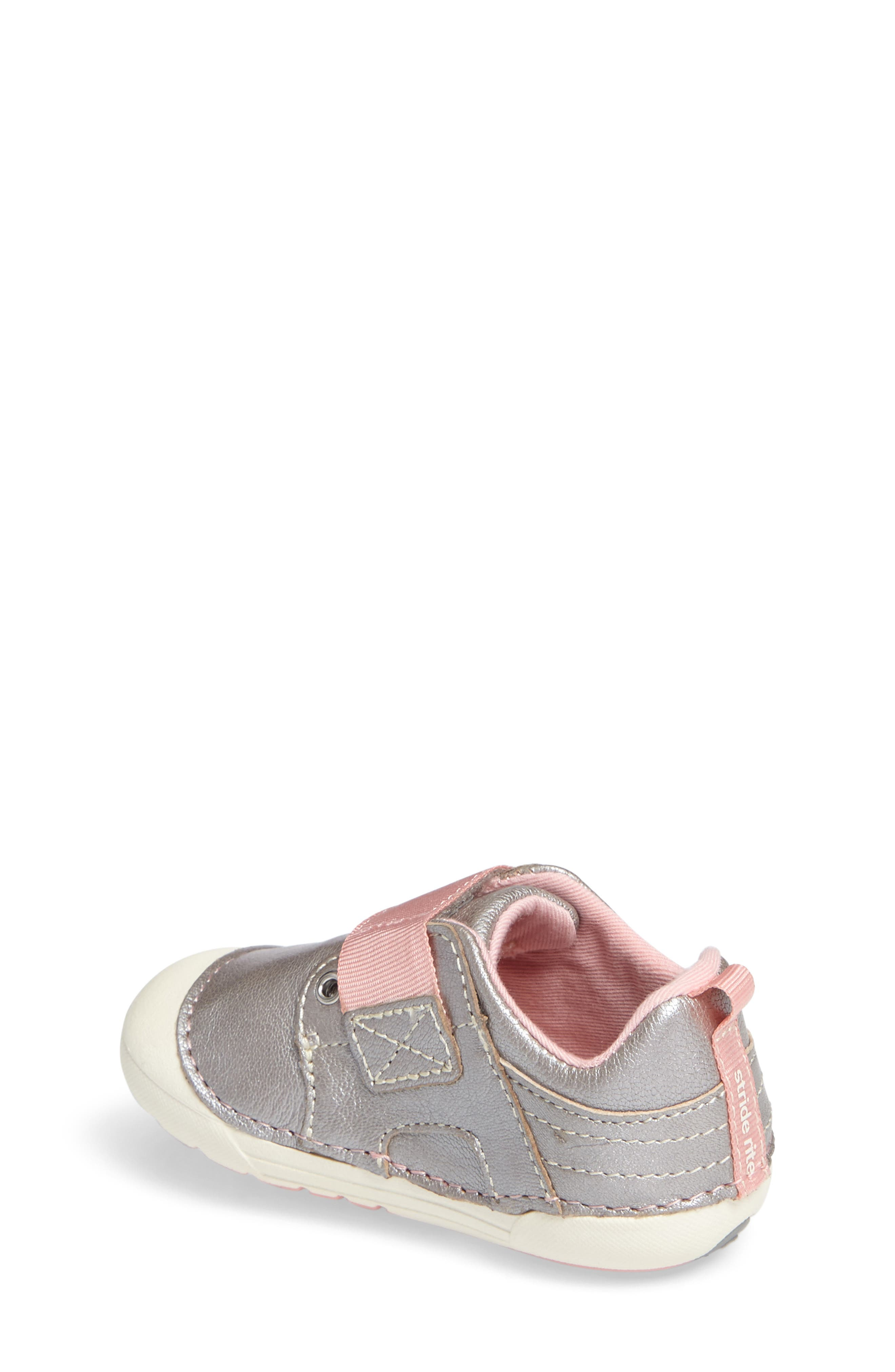 Soft Motion<sup>™</sup> Cameron Sneaker,                             Alternate thumbnail 2, color,                             SILVER