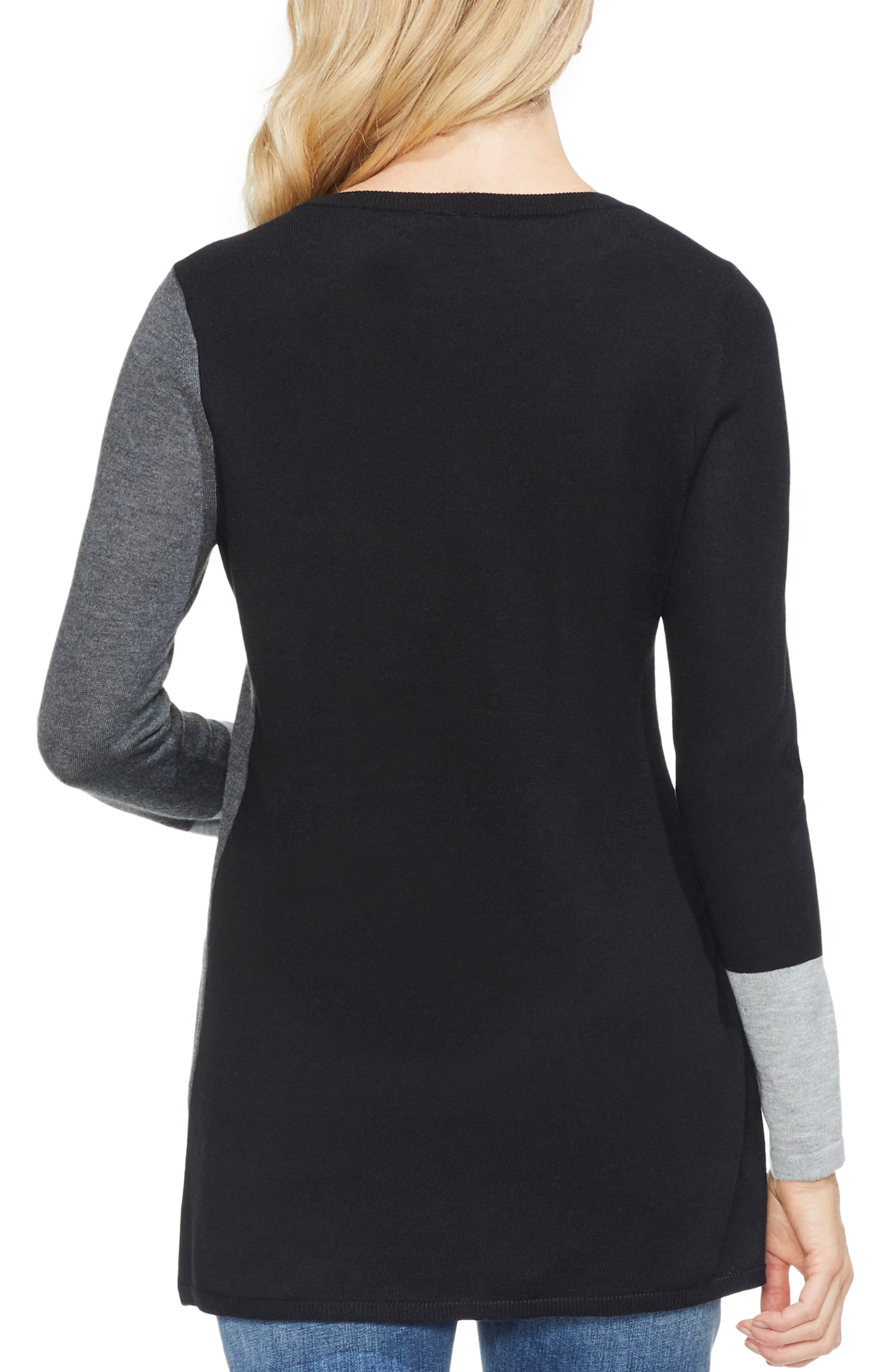 Colorblock Sweater,                             Alternate thumbnail 2, color,                             023