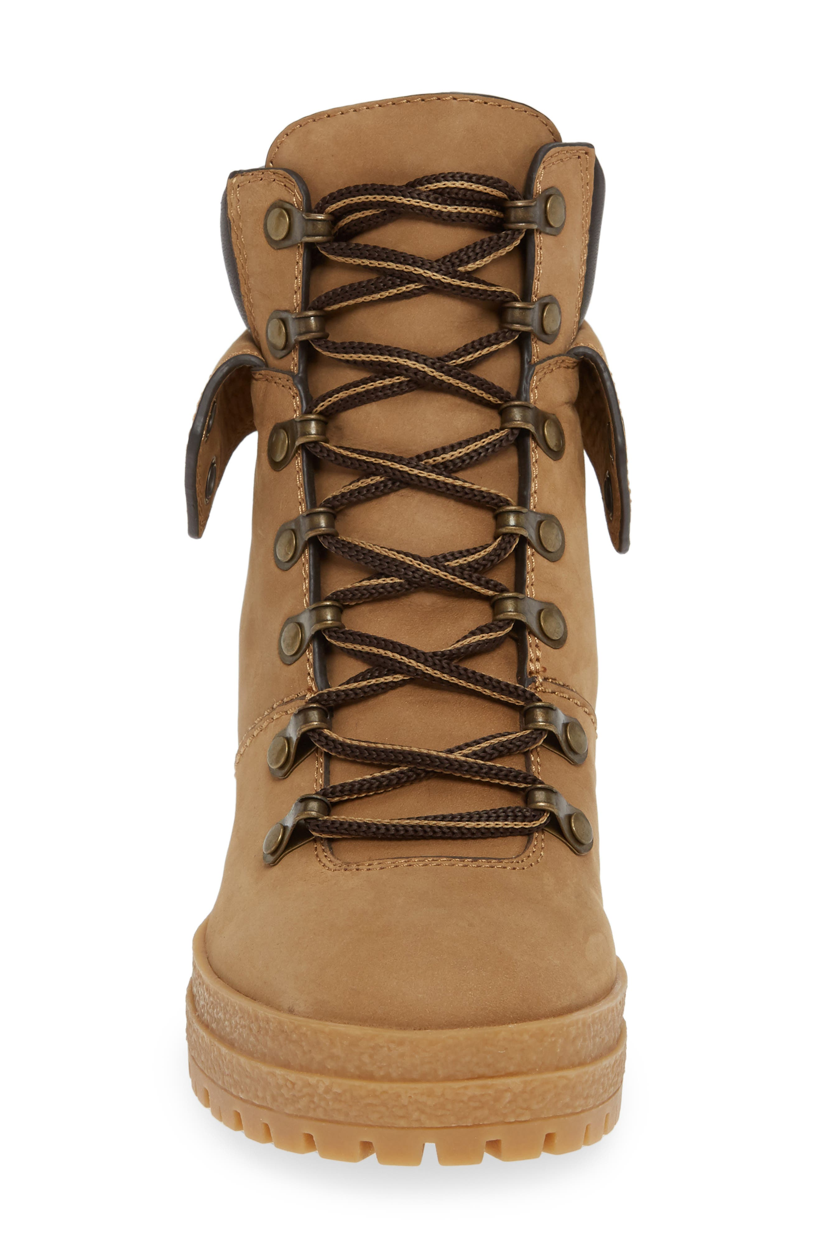 Eileen Lace-Up Boot,                             Alternate thumbnail 4, color,                             250