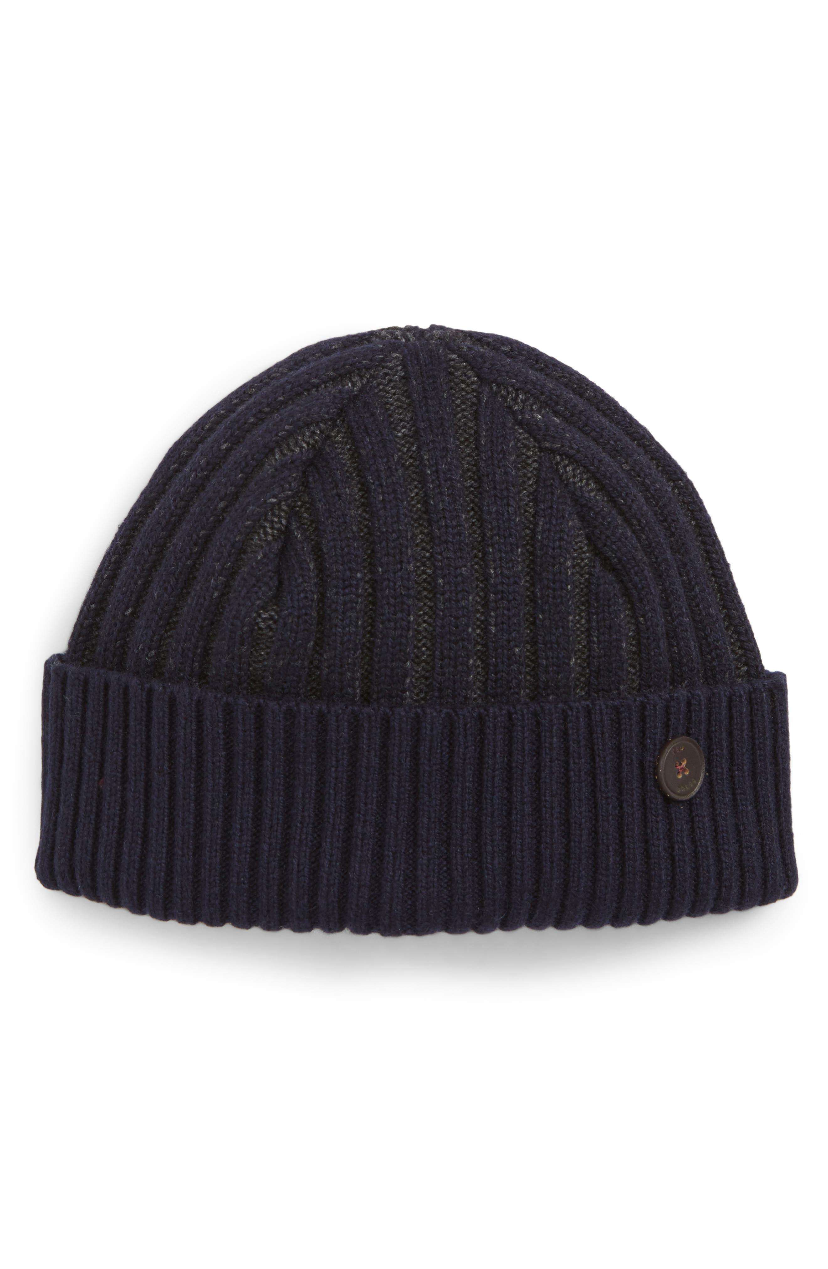 Knitted Interest Hat,                         Main,                         color, 410