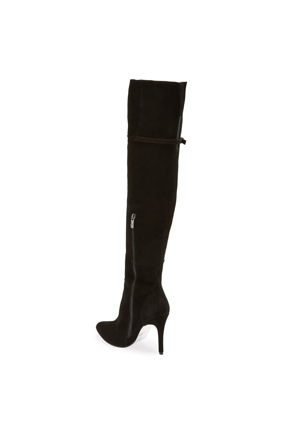 'Cassie' Over the Knee Boot,                             Alternate thumbnail 2, color,                             001