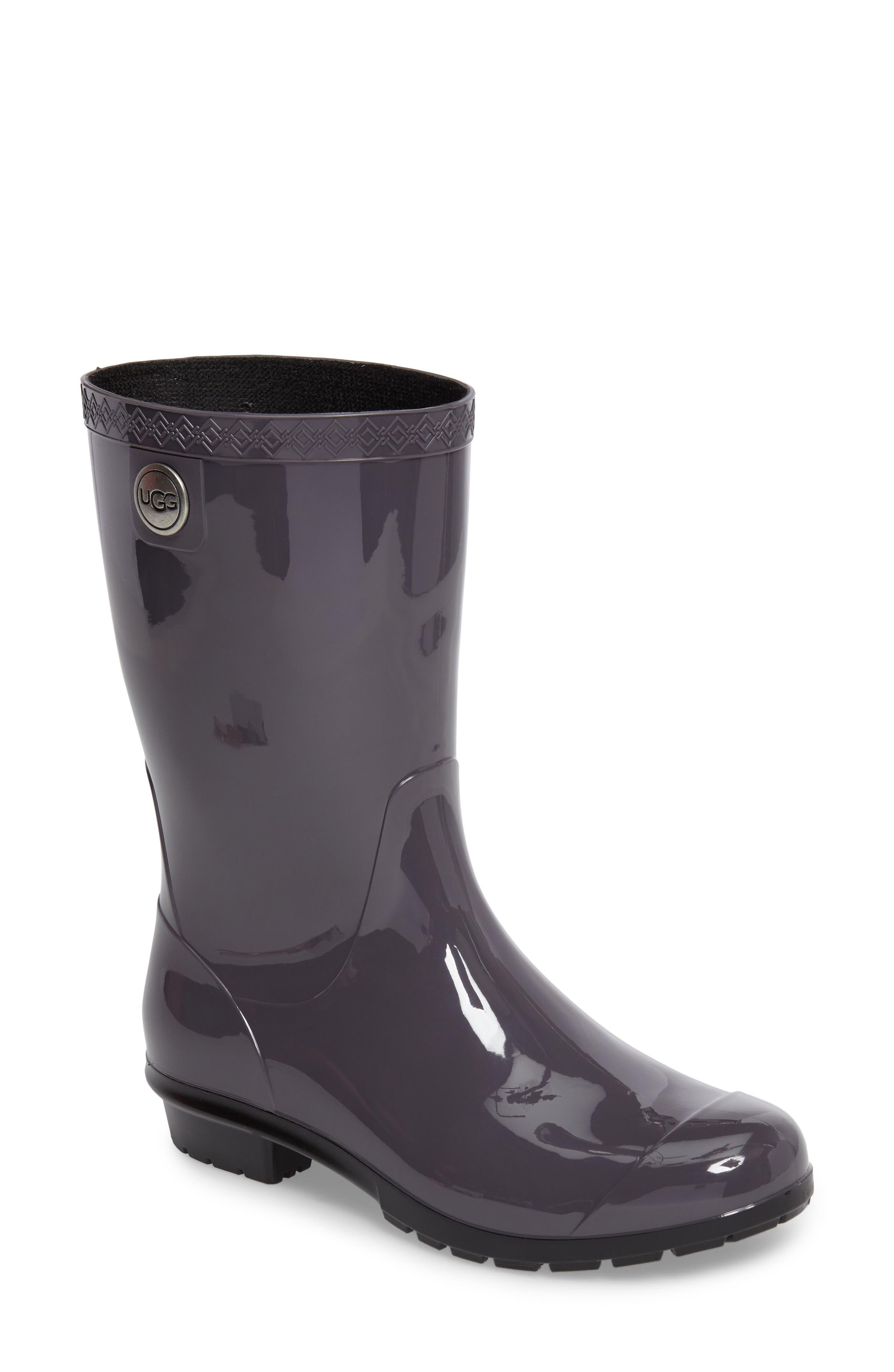 UGG<SUP>®</SUP> Sienna Rain Boot, Main, color, NIGHTFALL