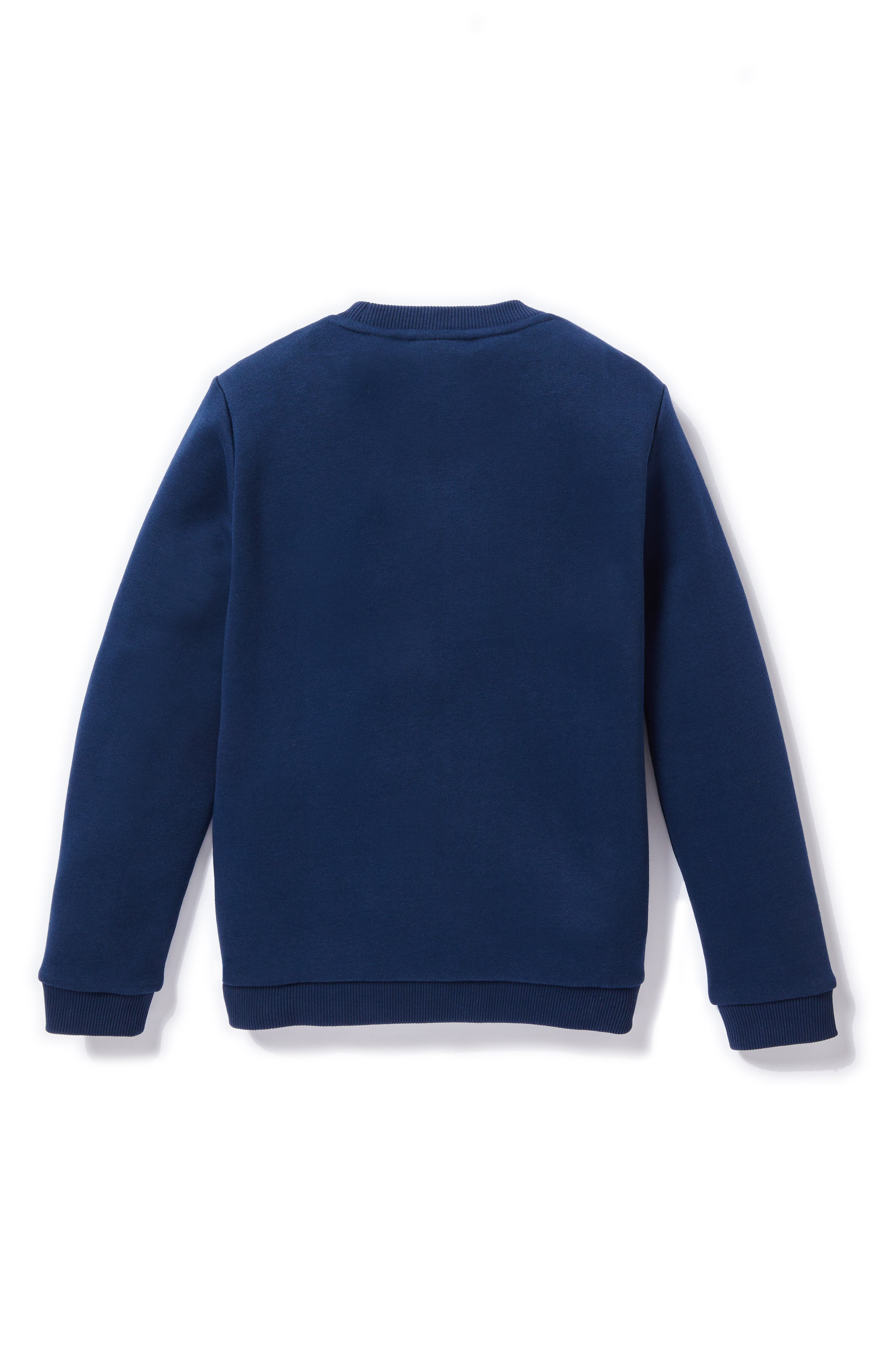 Multicolor Animation Sweatshirt,                             Alternate thumbnail 2, color,                             NAVY BLUE