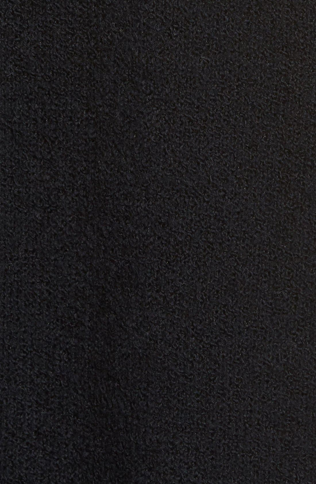 Drape Cardigan,                             Alternate thumbnail 16, color,                             BLACK