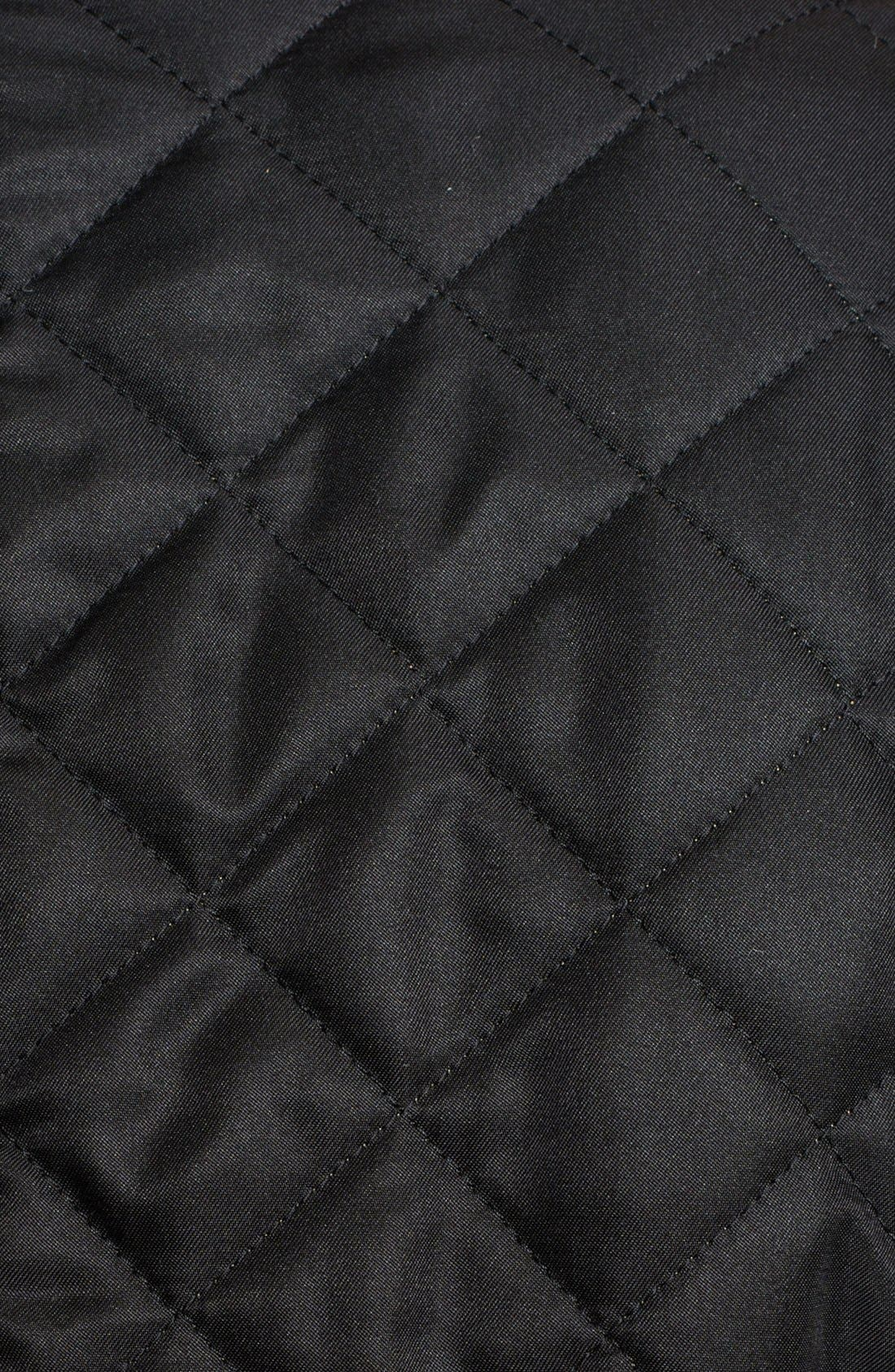 'Copford' Quilted Jacket,                             Alternate thumbnail 6, color,                             001