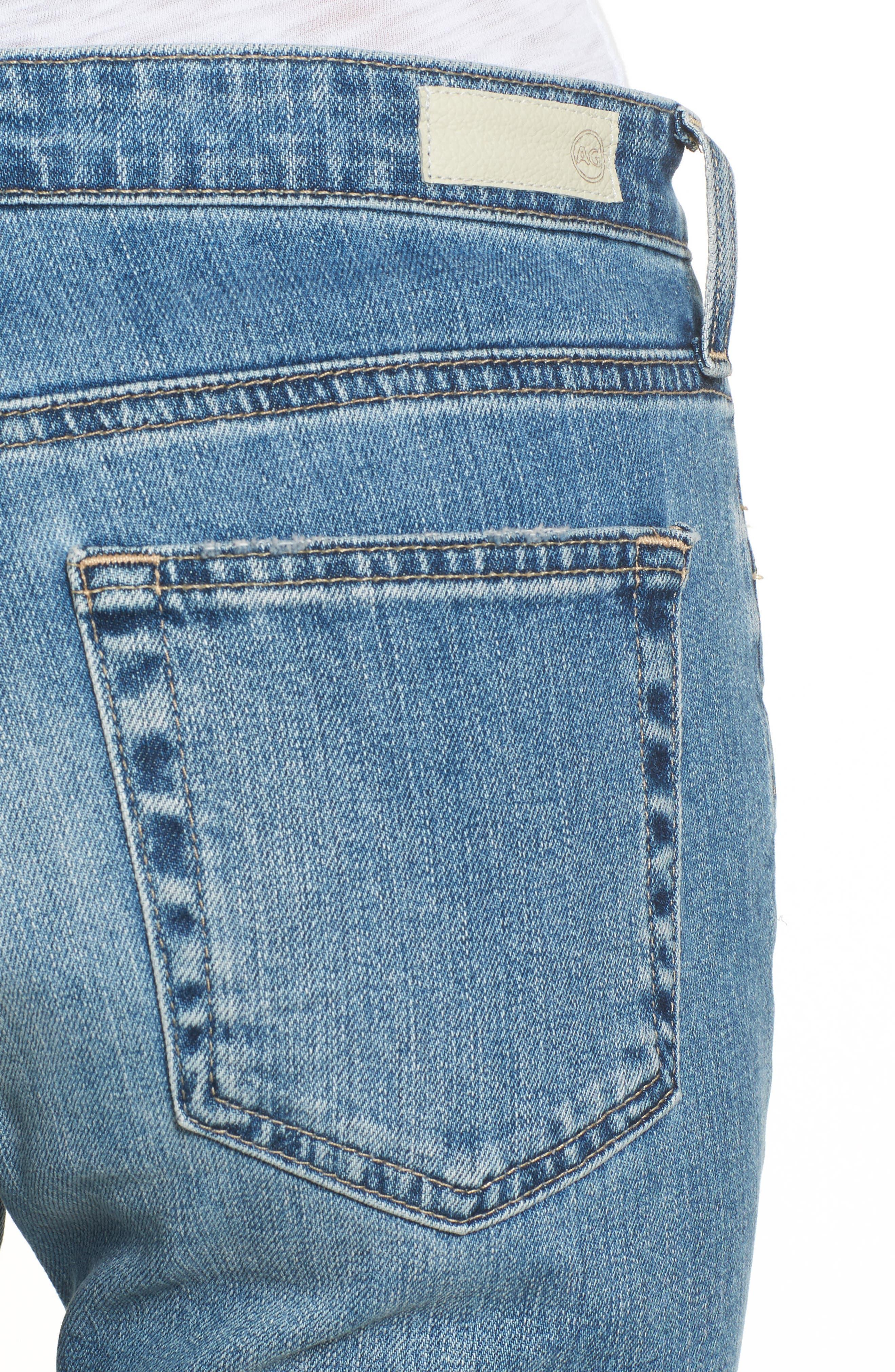 Jodi Crop Flare Jeans,                             Alternate thumbnail 4, color,