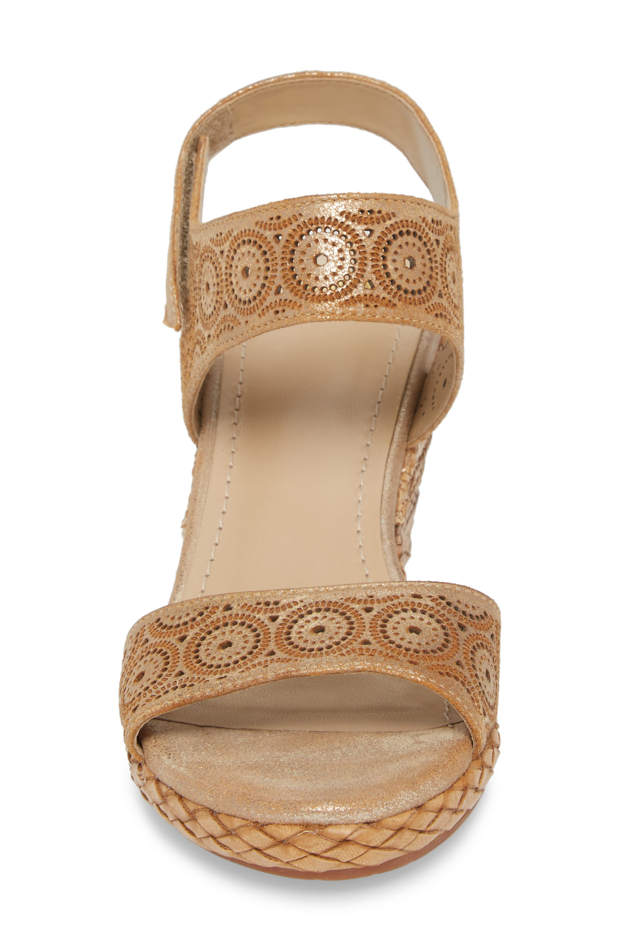 Georgiana Wedge Sandal,                             Alternate thumbnail 8, color,