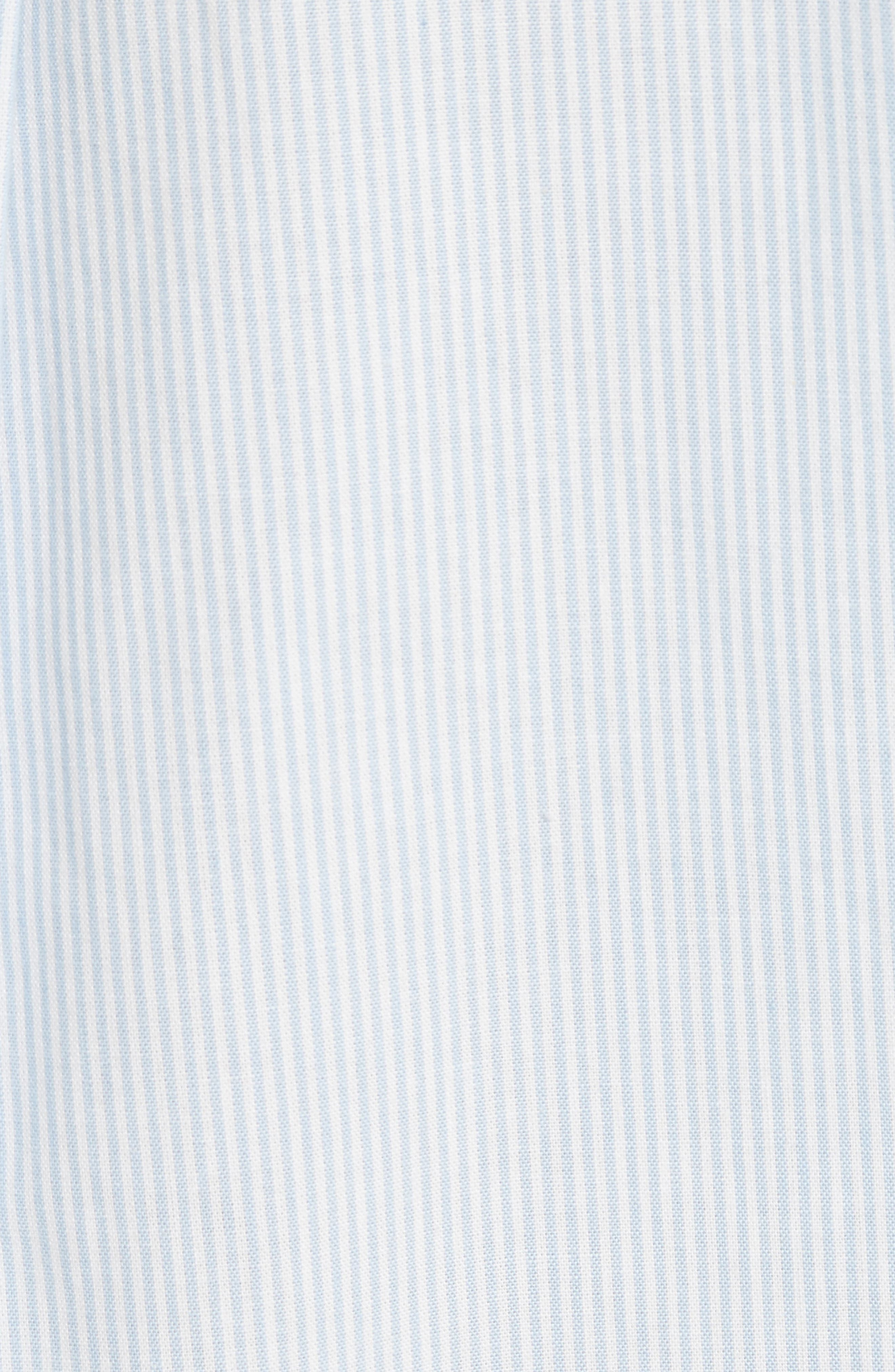 Embroidered Stripe Cotton Shirt,                             Alternate thumbnail 5, color,                             459