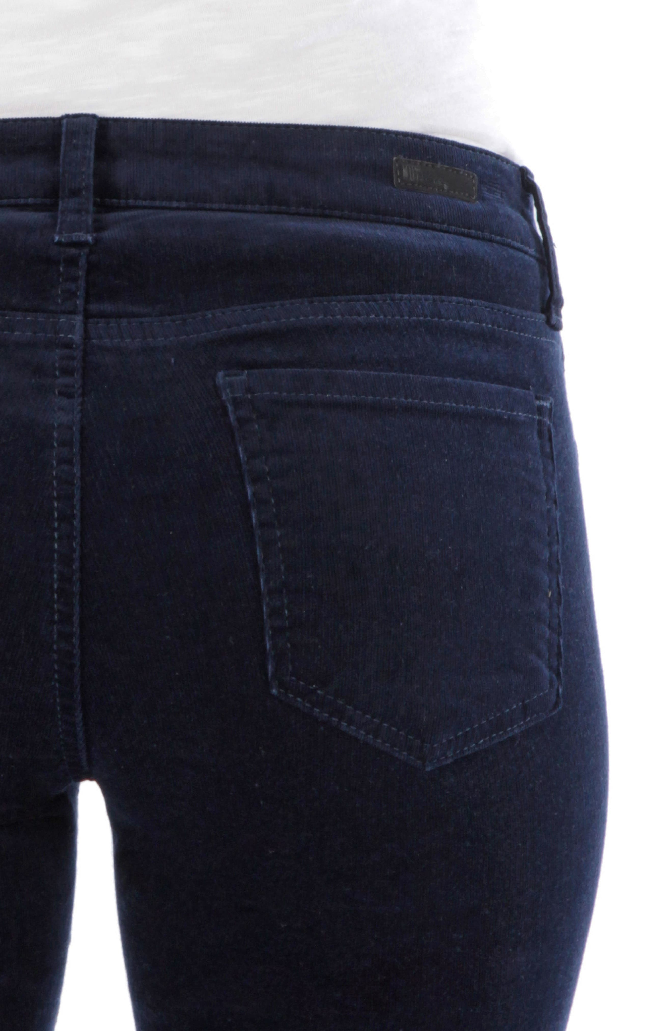 'Diana' Stretch Corduroy Skinny Pants,                             Alternate thumbnail 168, color,